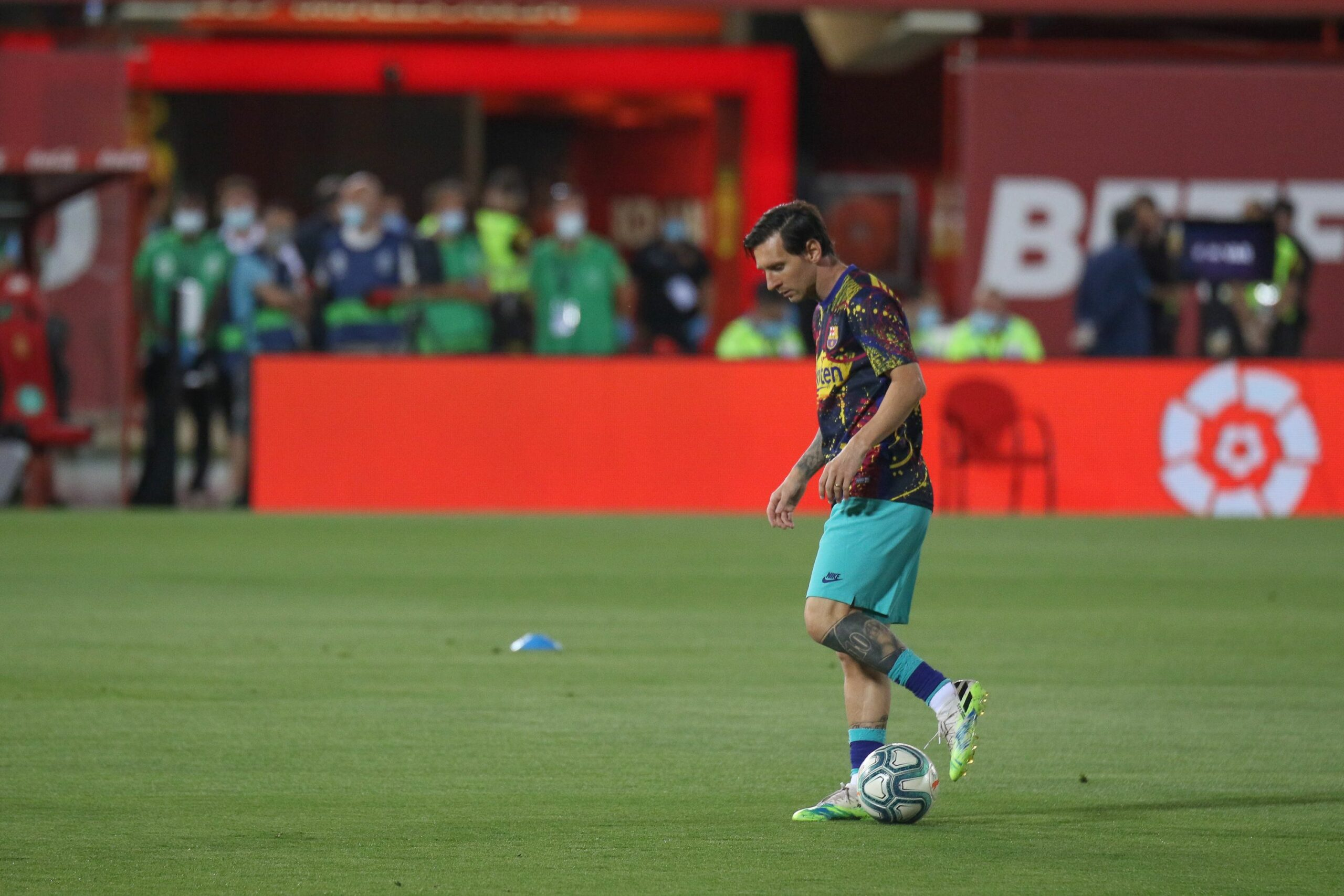 Messi, abans del partit contra el Mallorca | Europa Press