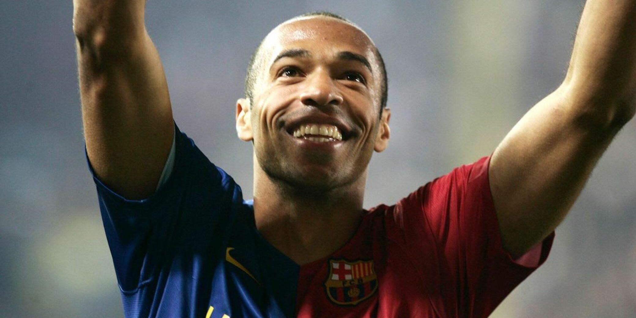 Thierry Henry, durant la seva etapa al Barça | FC Barcelona