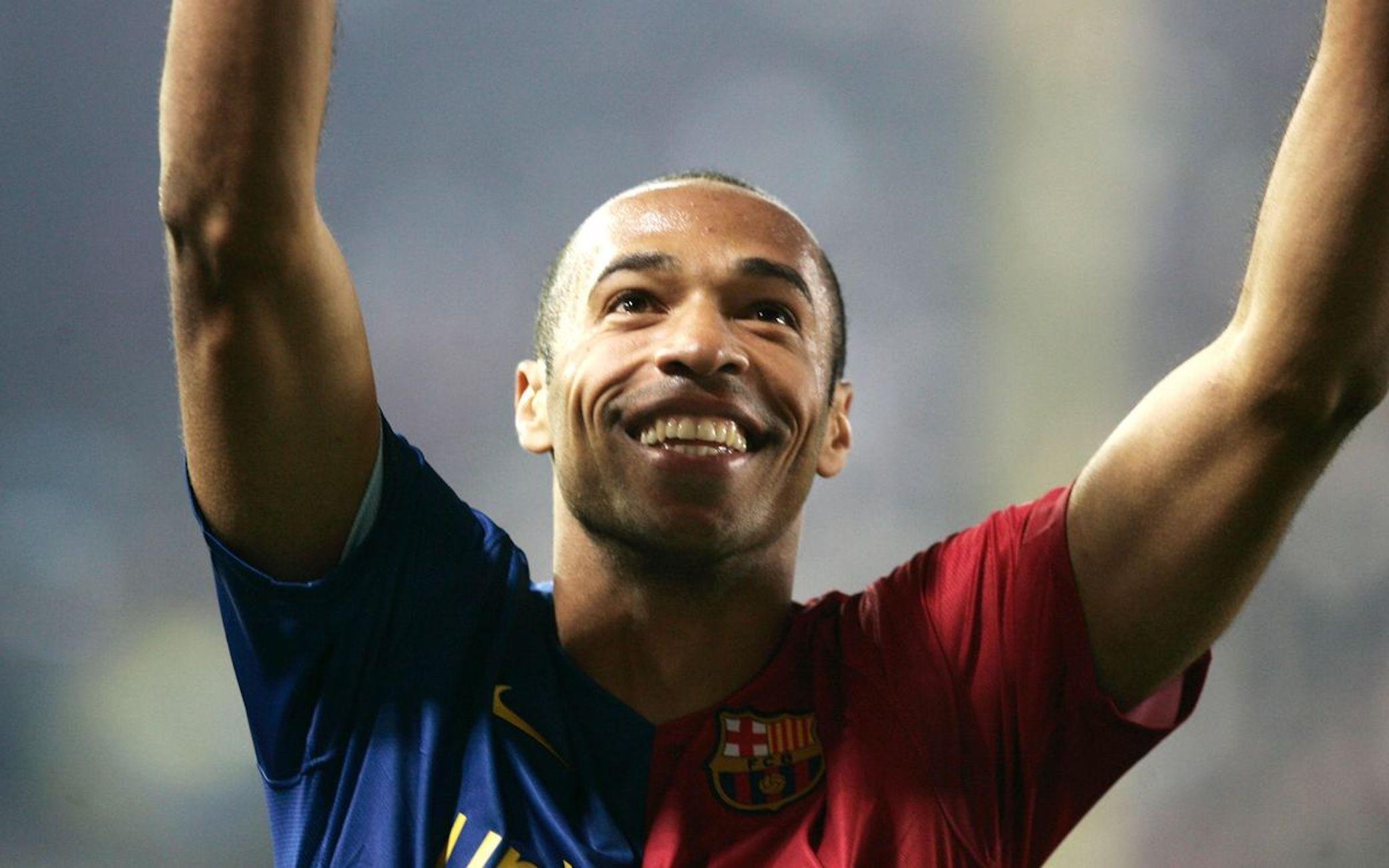 Thierry Henry, durant la seva etapa al Barça   FC Barcelona