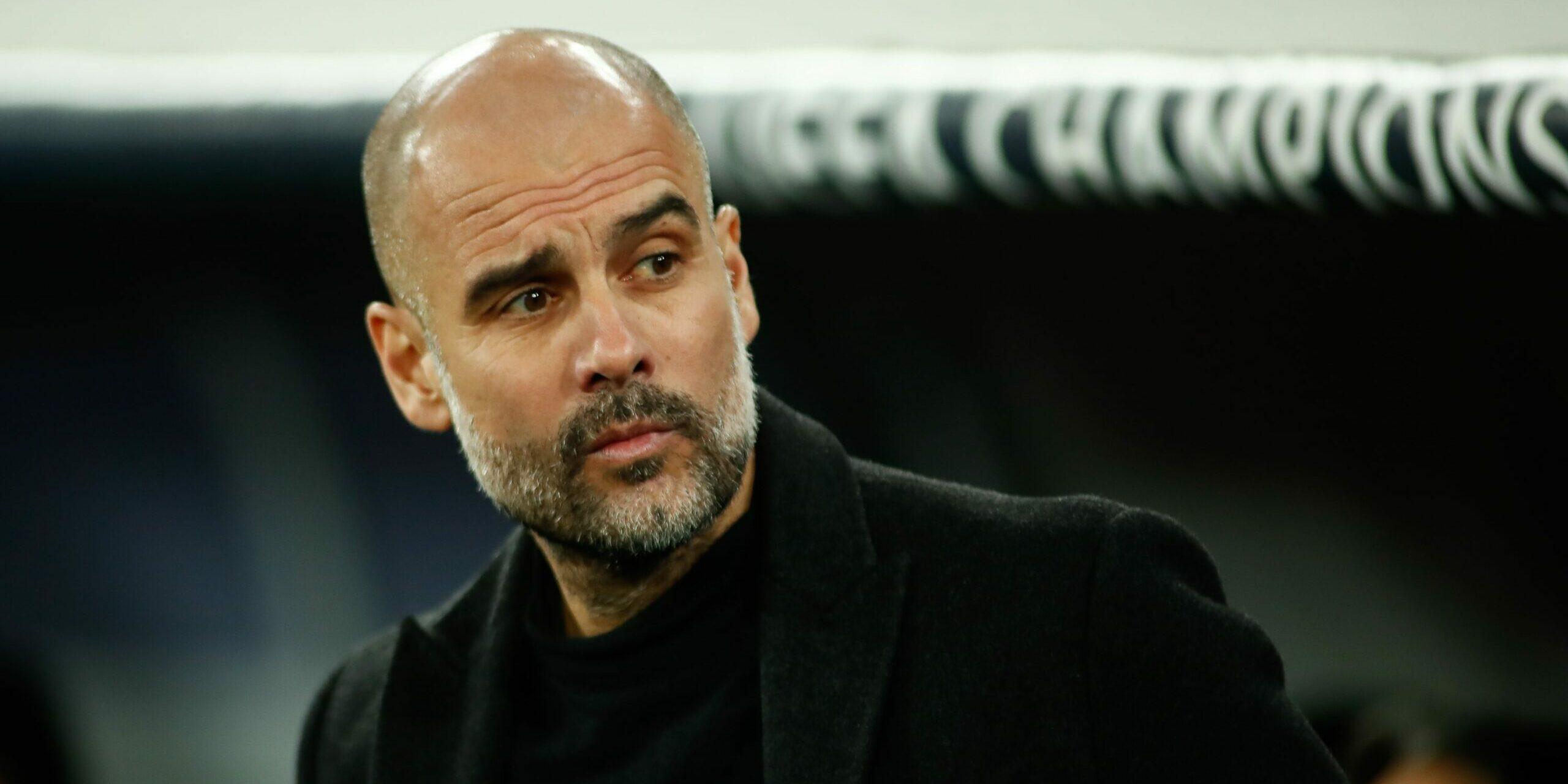 Guardiola, durant un partit | Europa Press
