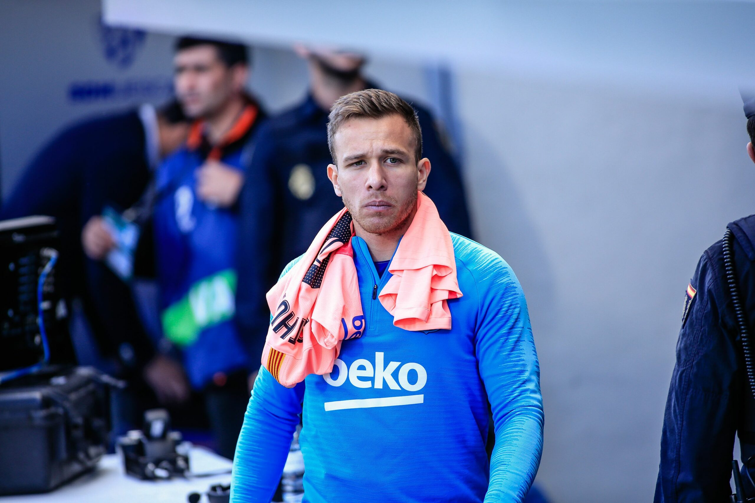Arthur Melo, migcampista del Barça | Europa Press
