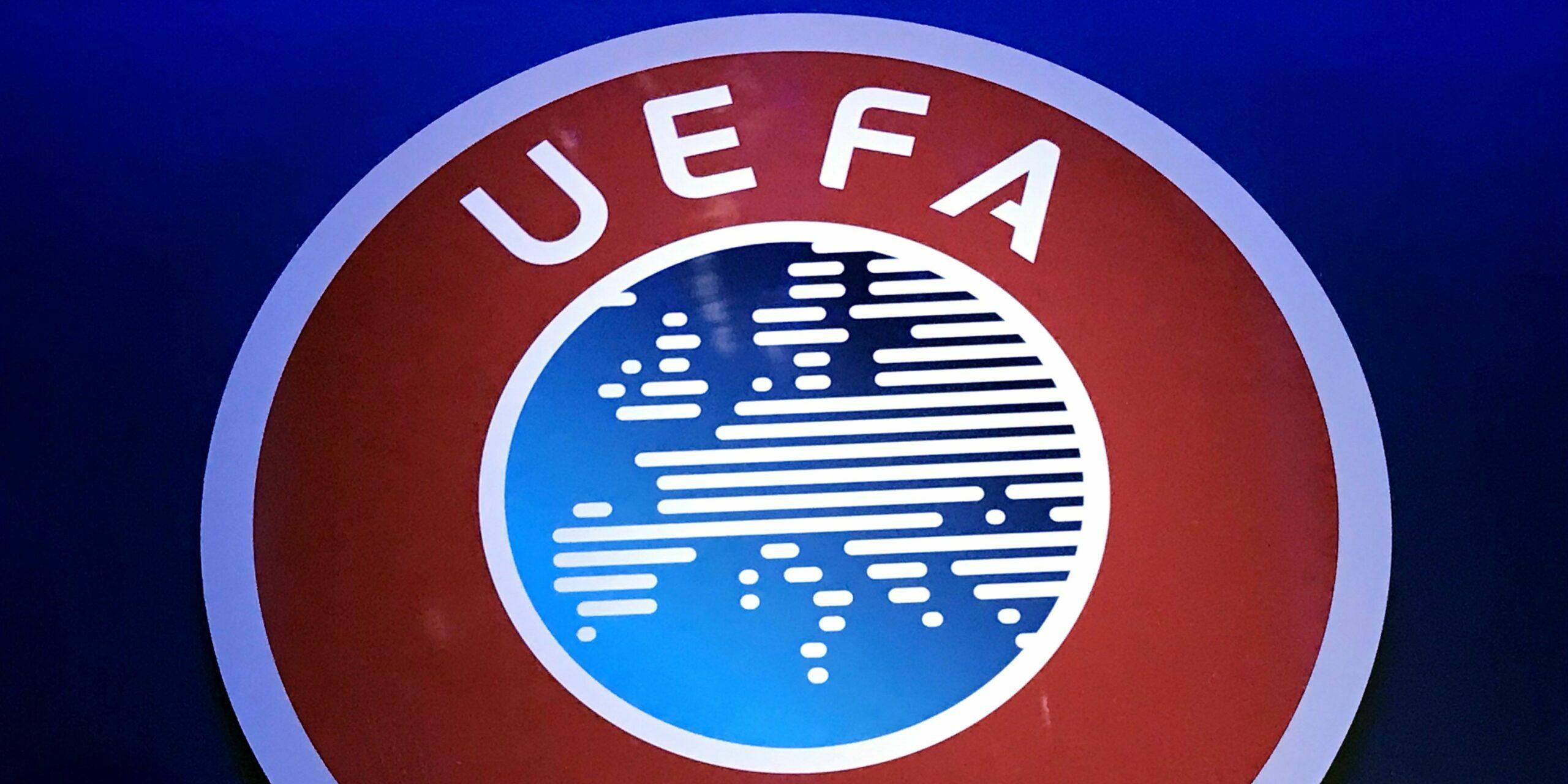 Logotip de la UEFA |Europa Press