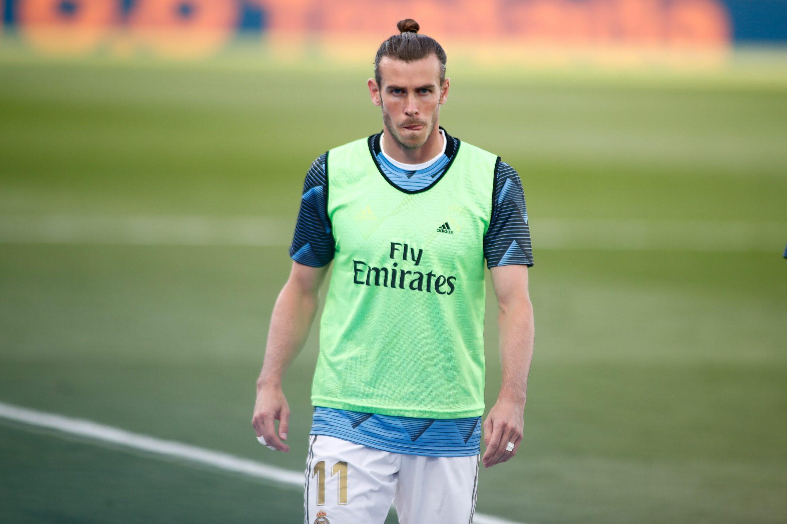 Bale, durant el partit del Madrid contra l'Eibar   Europa Press