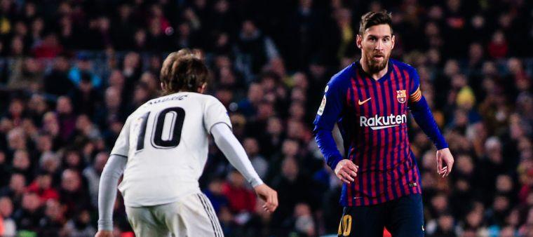 Modric i Messi, durant un clàssic | Europa Press
