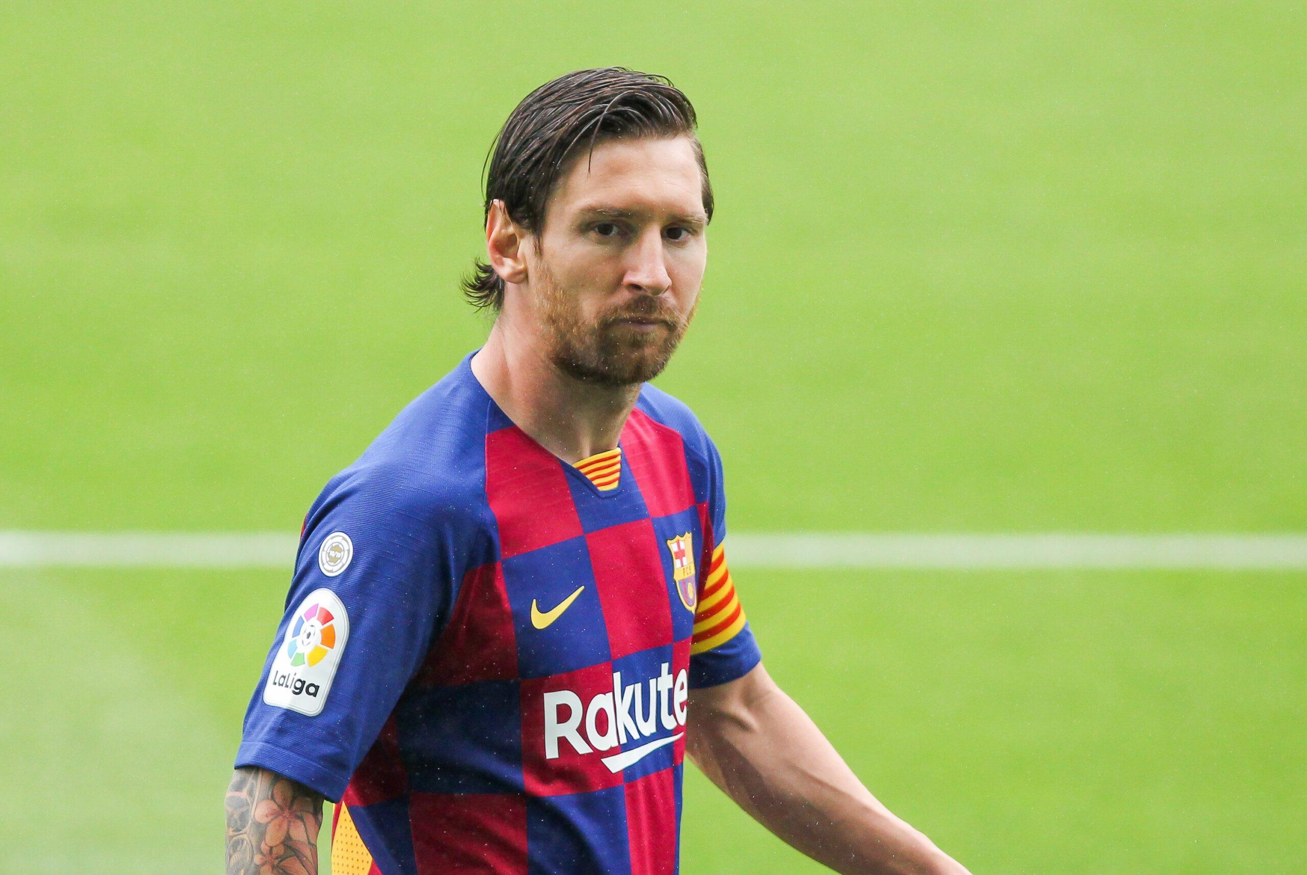 Leo Messi, durant el partit contra el Celta | Europa Press