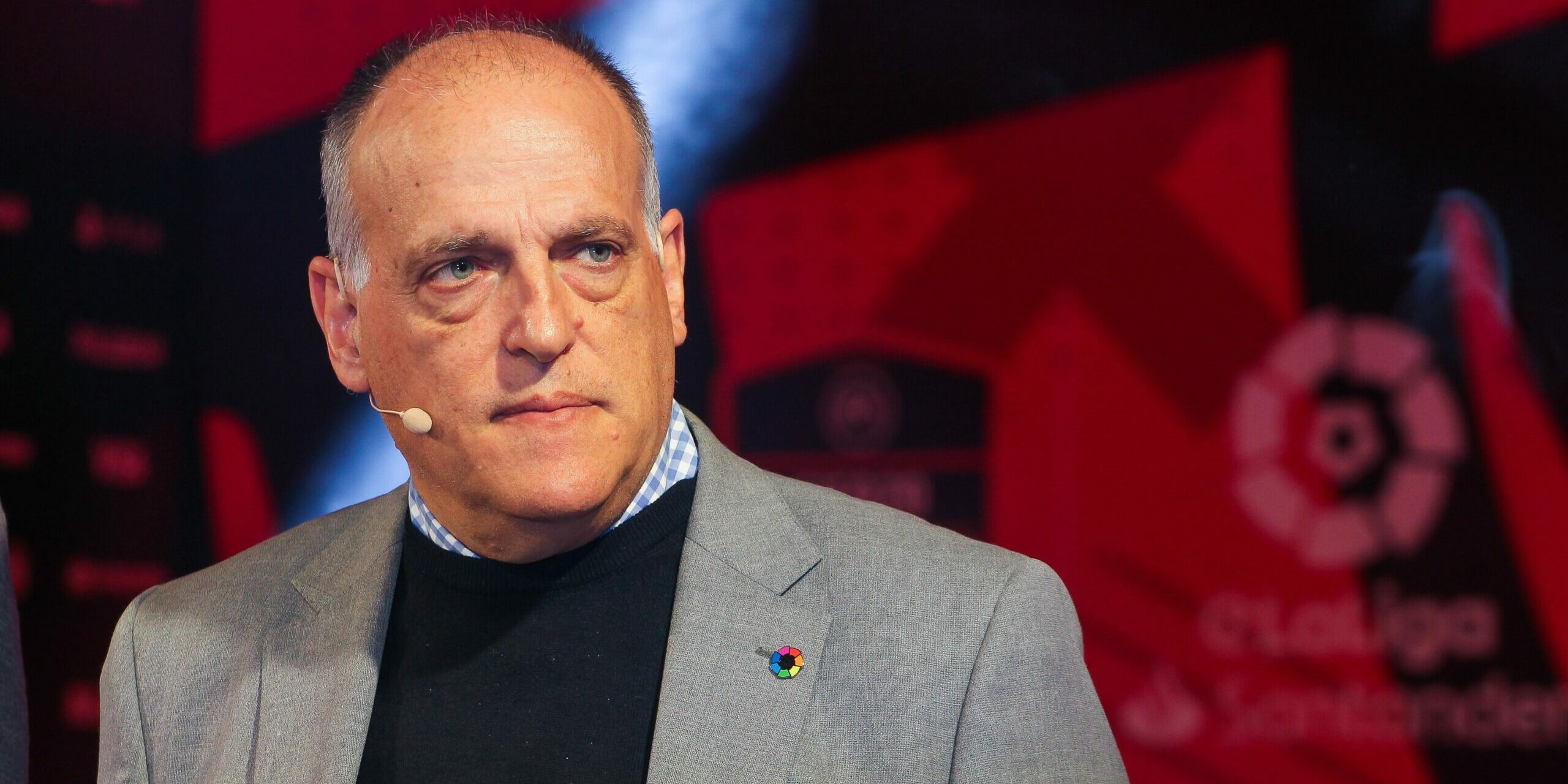 Tebas, president de LaLiga | Europa Press