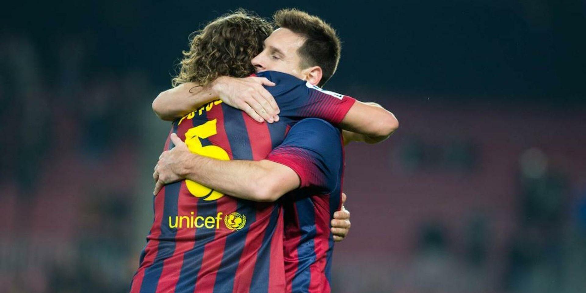 Messi i Puyol, durant un partit | FC Barcelona