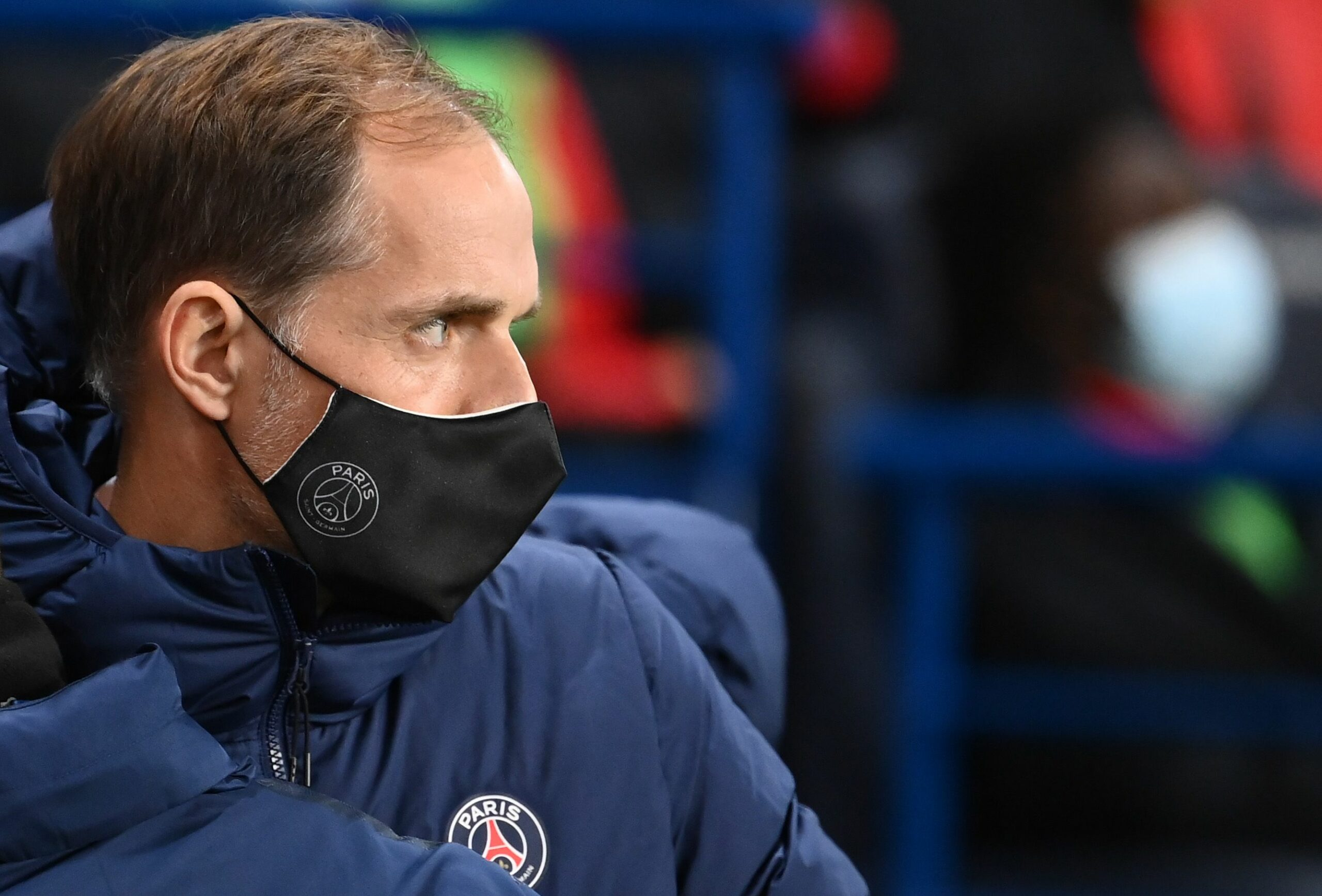 Thomas Tuchel, durant un partit del PSG | Europa Press