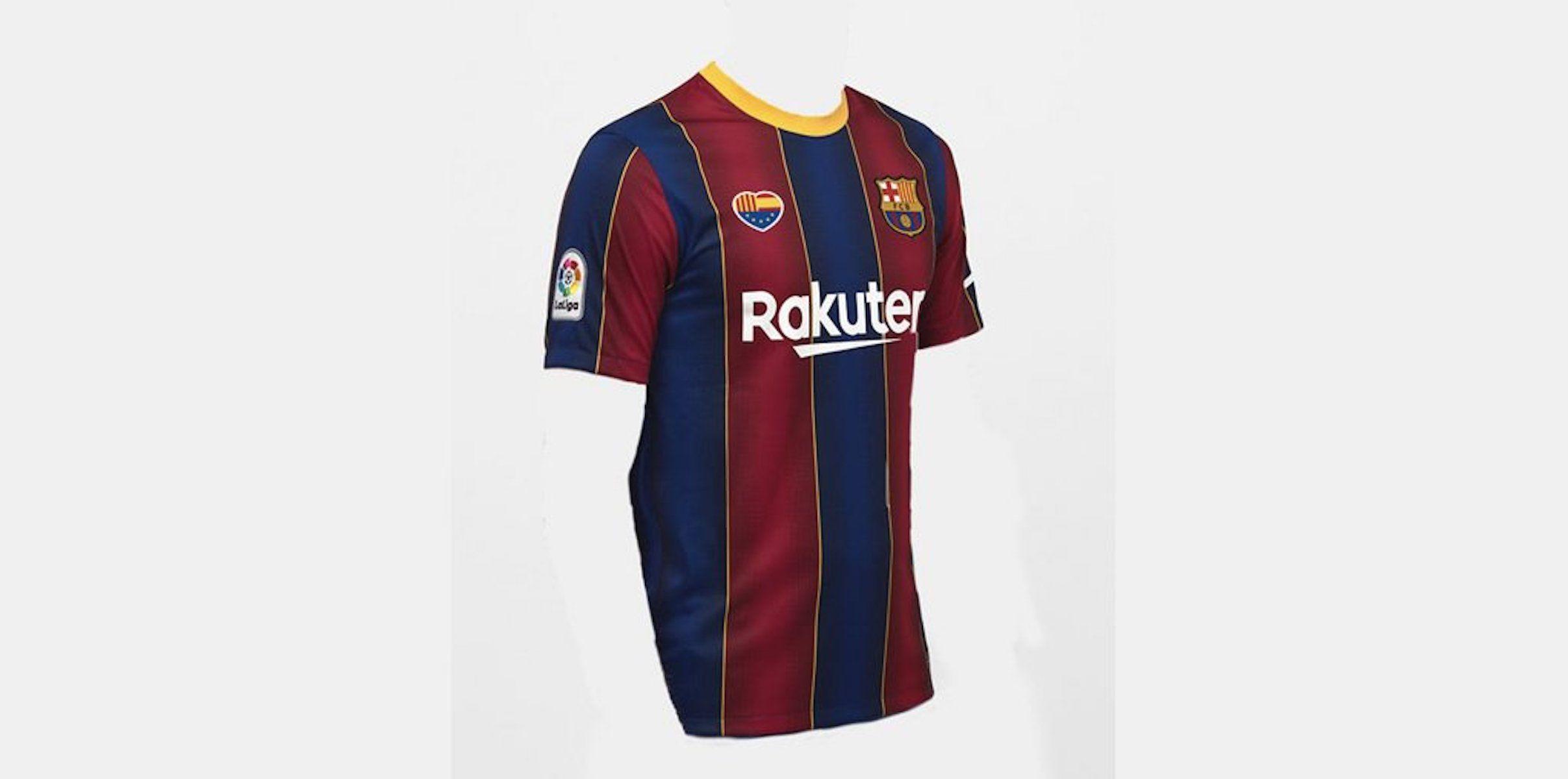 Polèmica innocentada de Ciutadans  col·loca el seu emblema a la samarreta del Barça   @CiudadanosCs