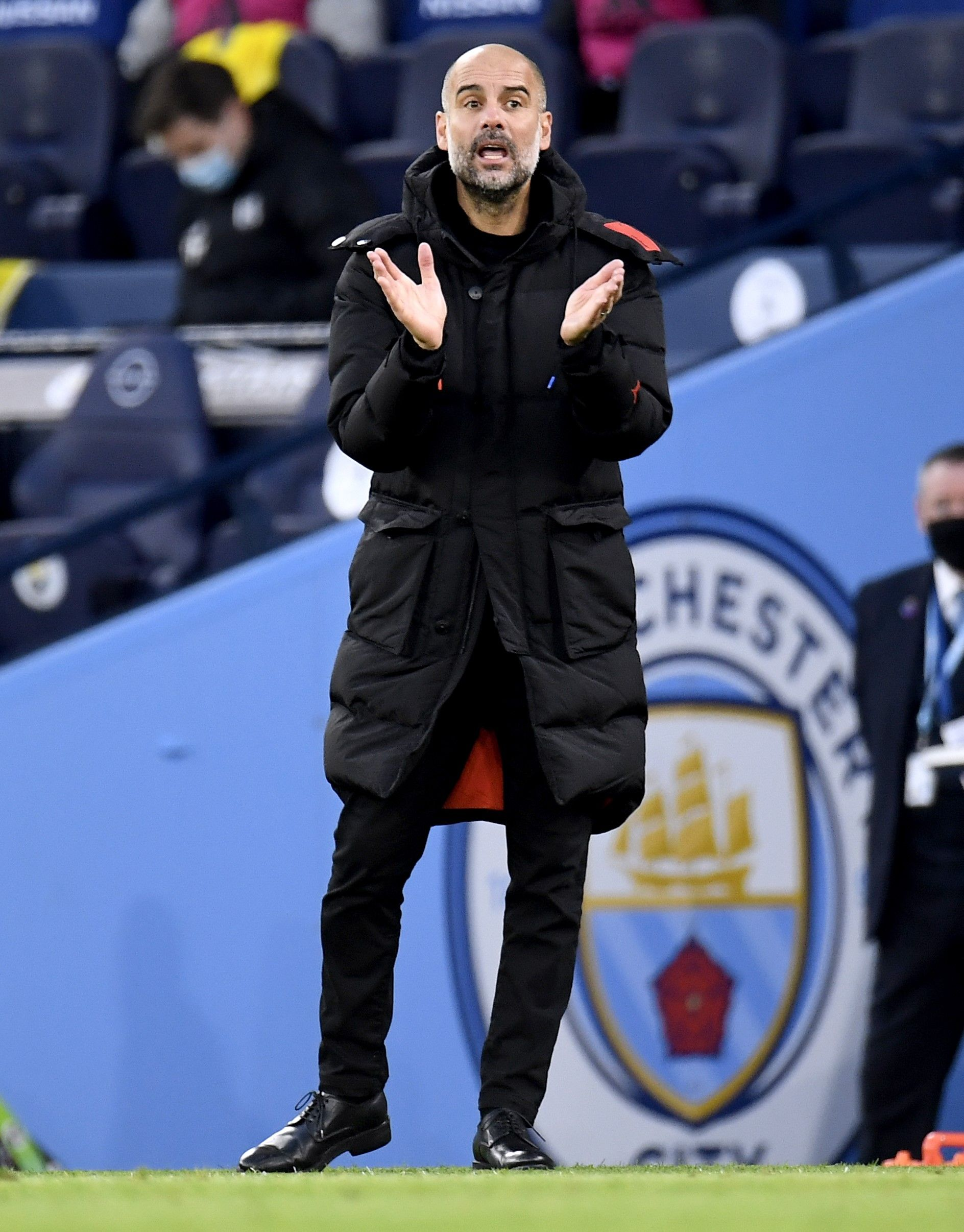 Pep Guardiola, entrenador del Manchester City | Europa Press