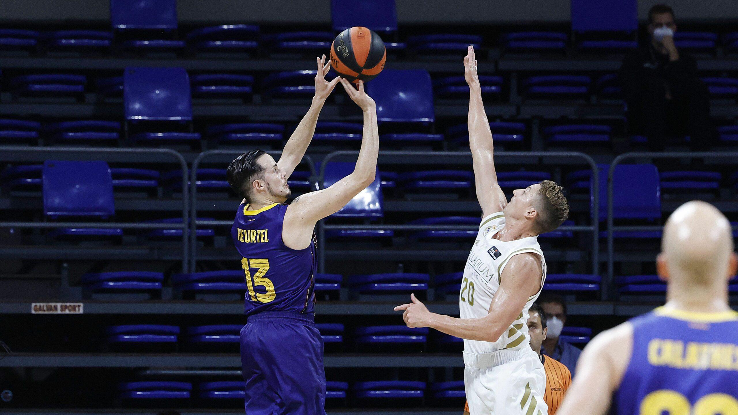 Heurtel i Carroll, durant la final de la Supercopa | ACB