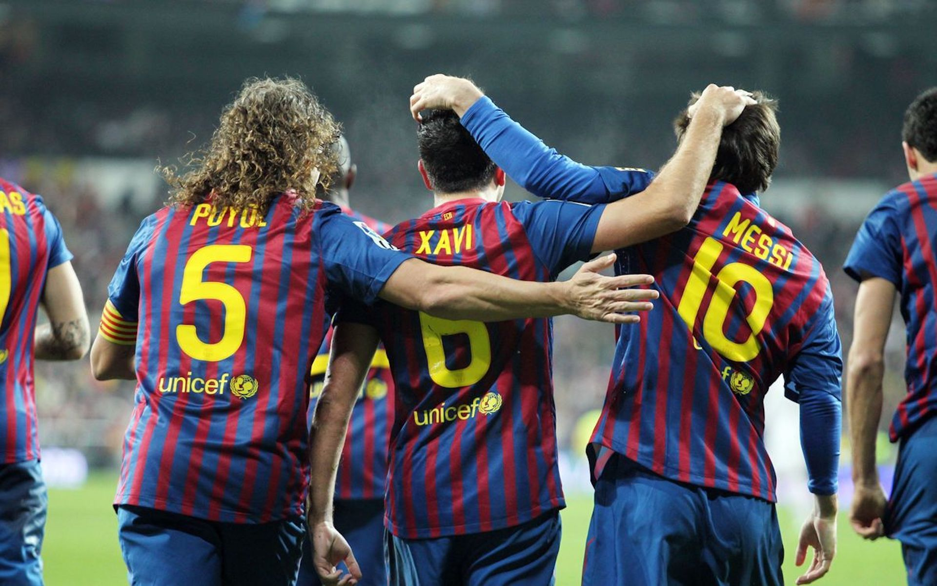 Puyol, Xavi i Messi, durant l'era Guardiola |FC Barcelona