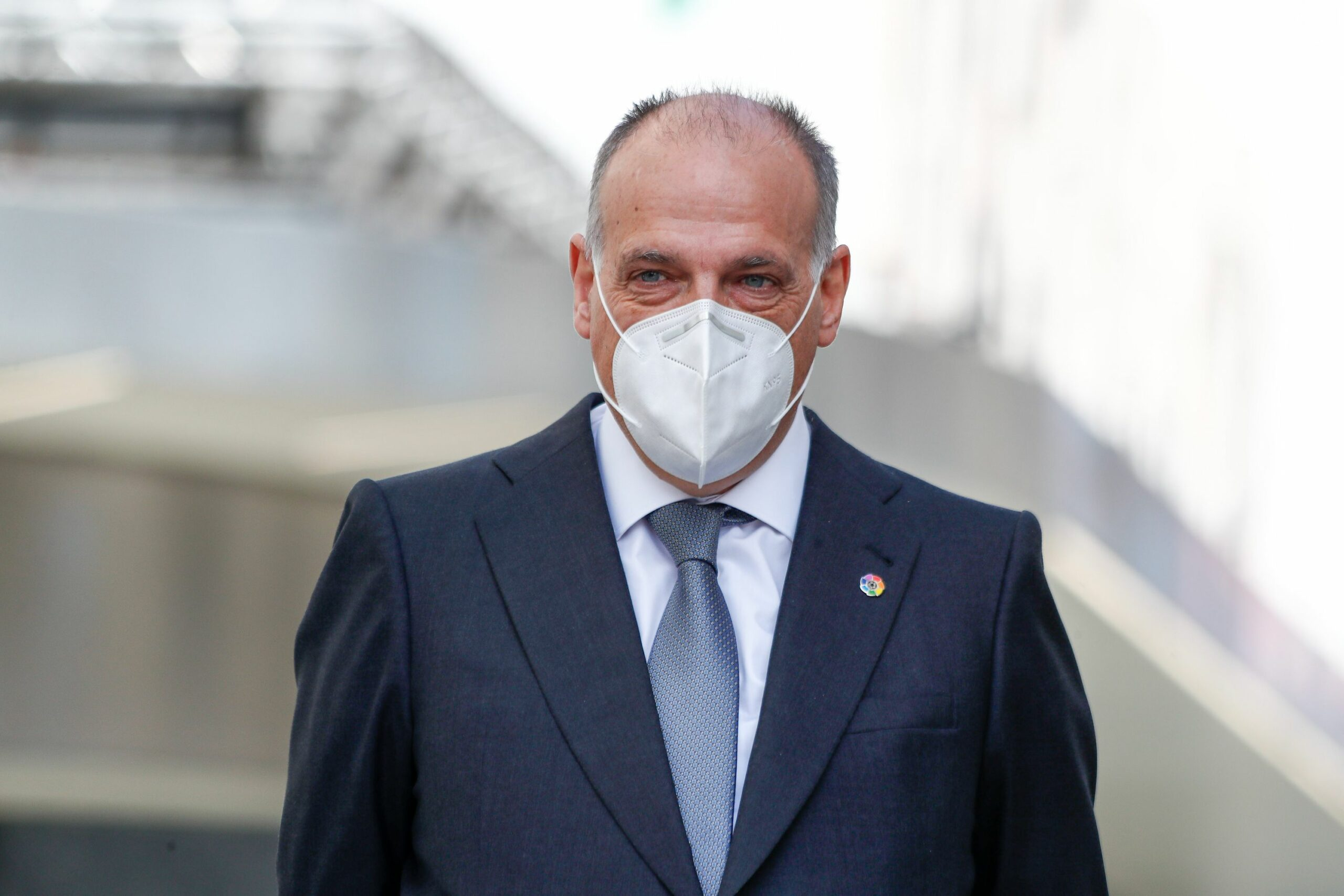 Javier Tebas, president de LaLiga | Europa Press