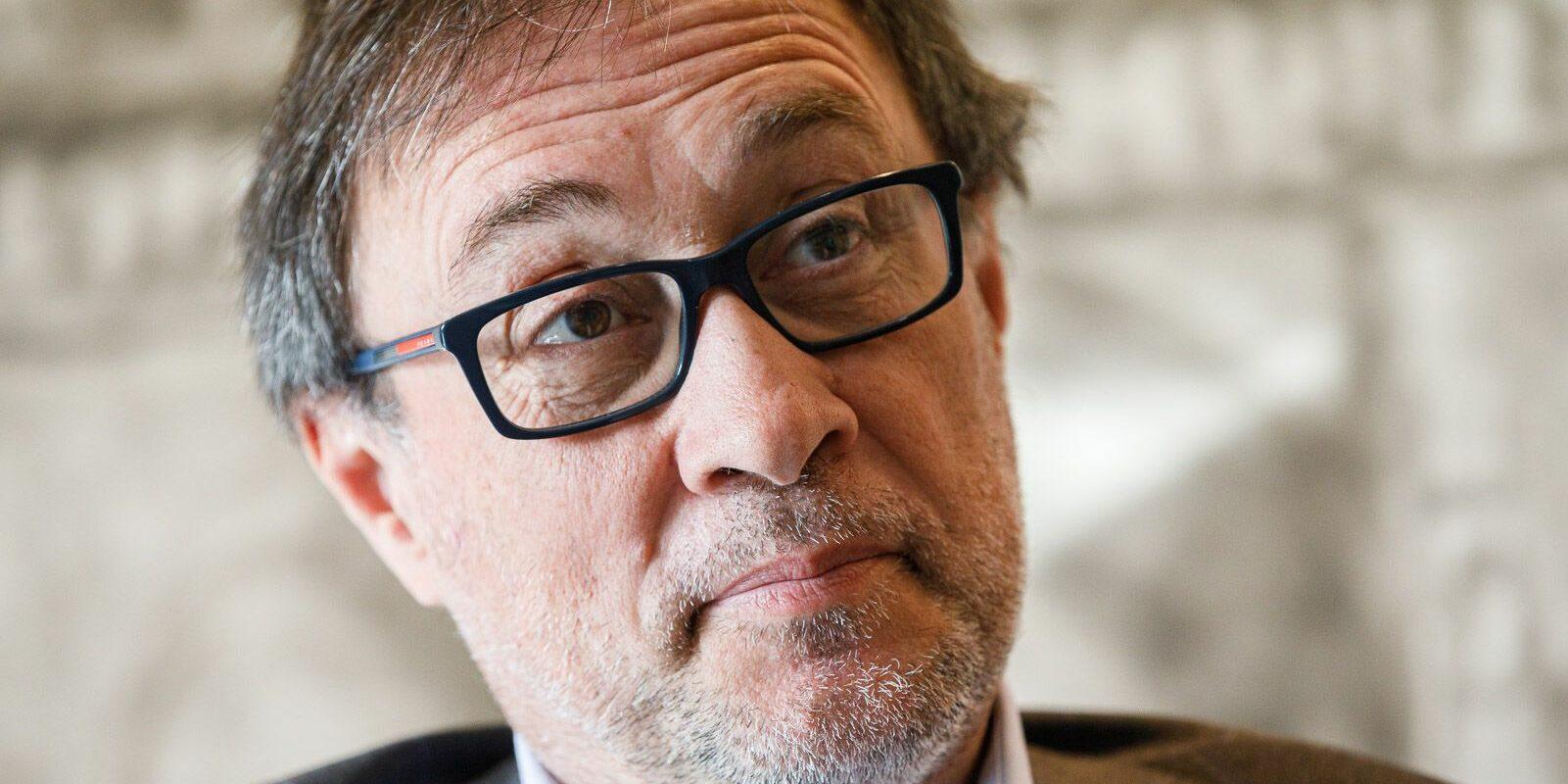 Agustí Benedito, durant l'entrevista amb 'El Món'   Jordi Borràs