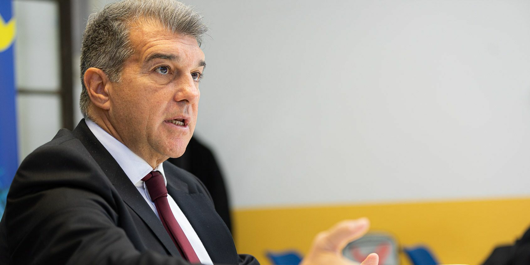 Joan Laporta, president del Barça | Jordi Borràs