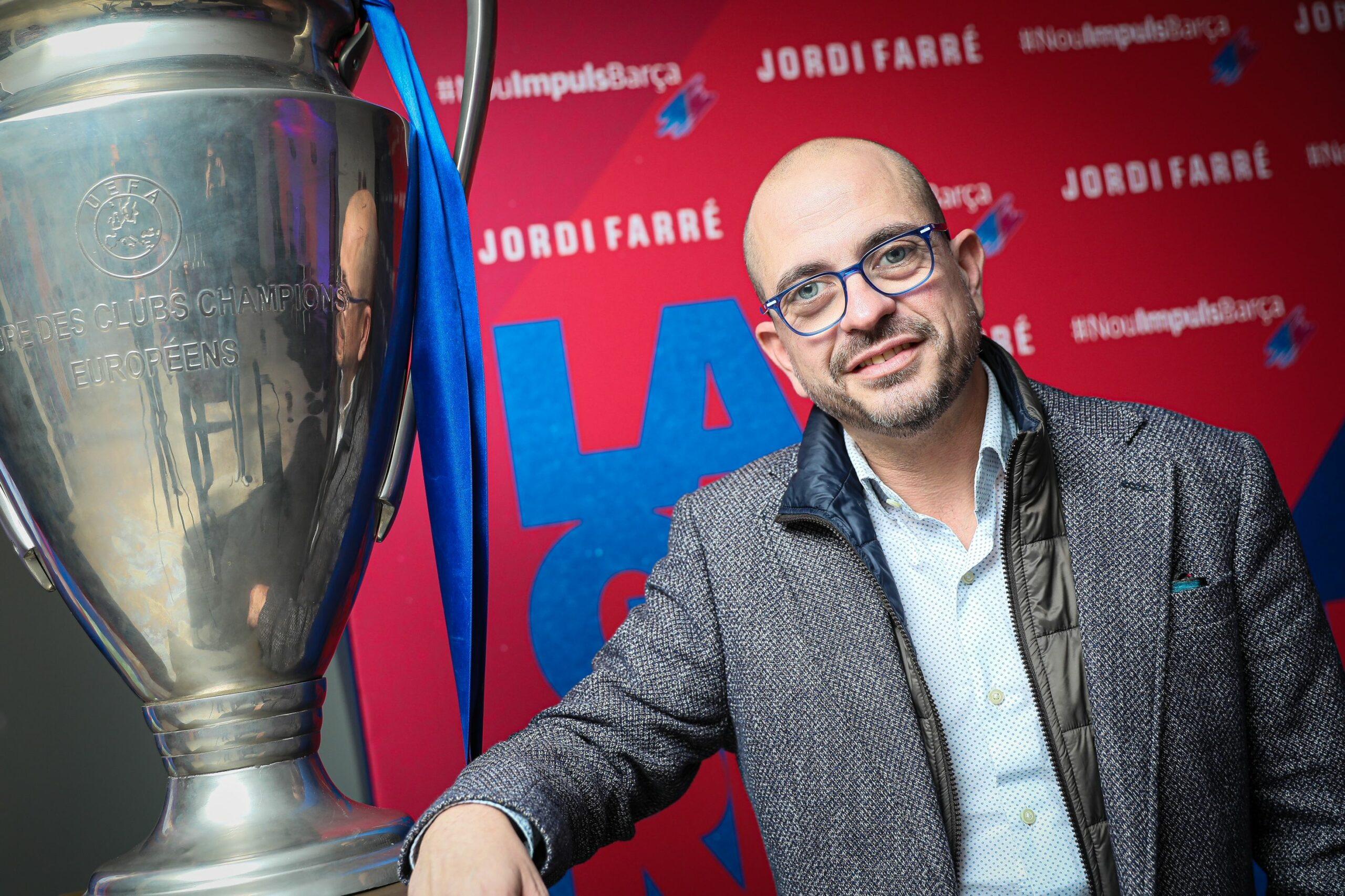 Jordi Farré, precandidat a les eleccions del Barça | Jordi Borràs