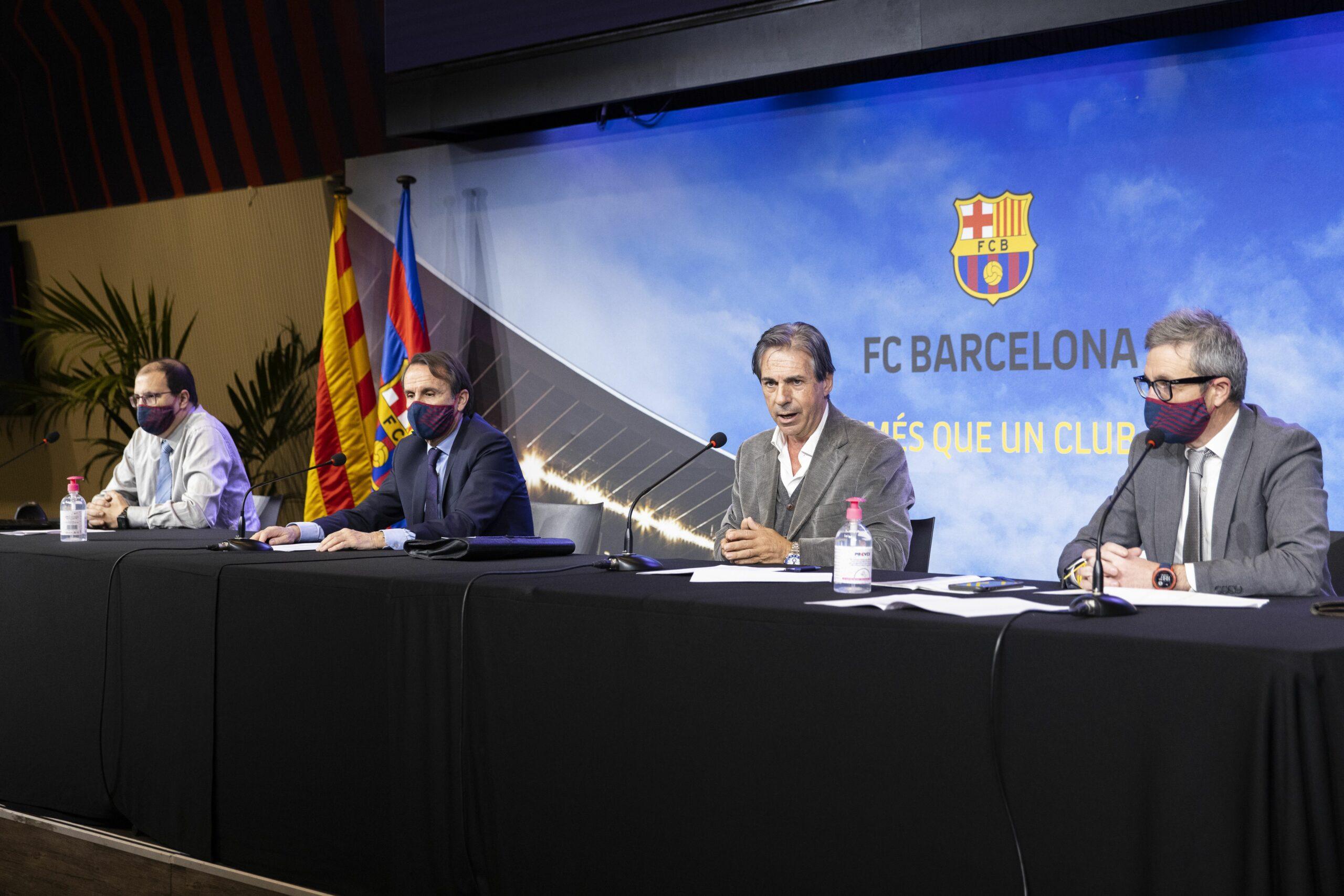 Sorteig de la junta i la mesa electorals del Barça   FC Barcelona