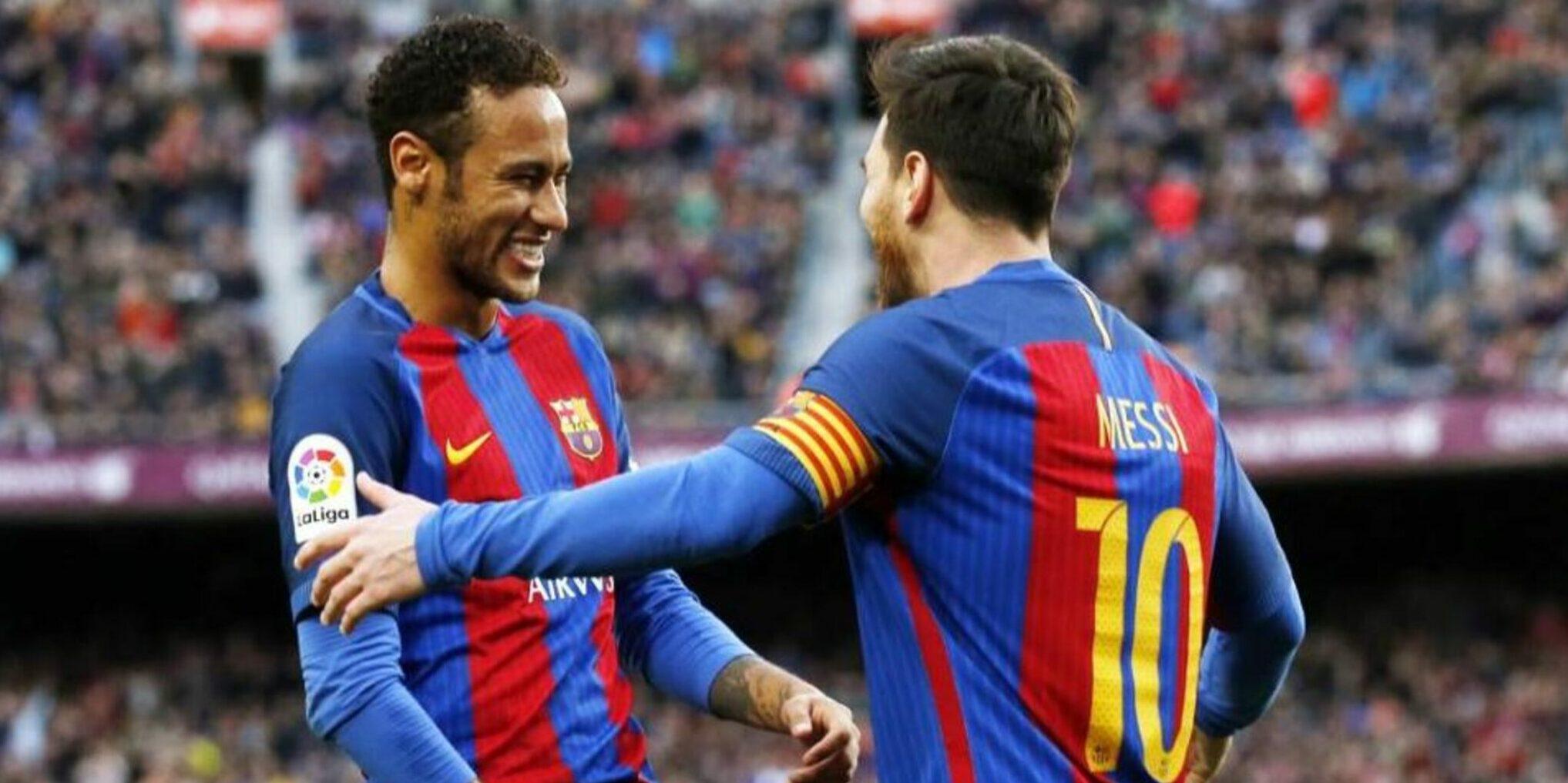 Messi i Neymar, en un partit amb el Barça | FC Barcelona