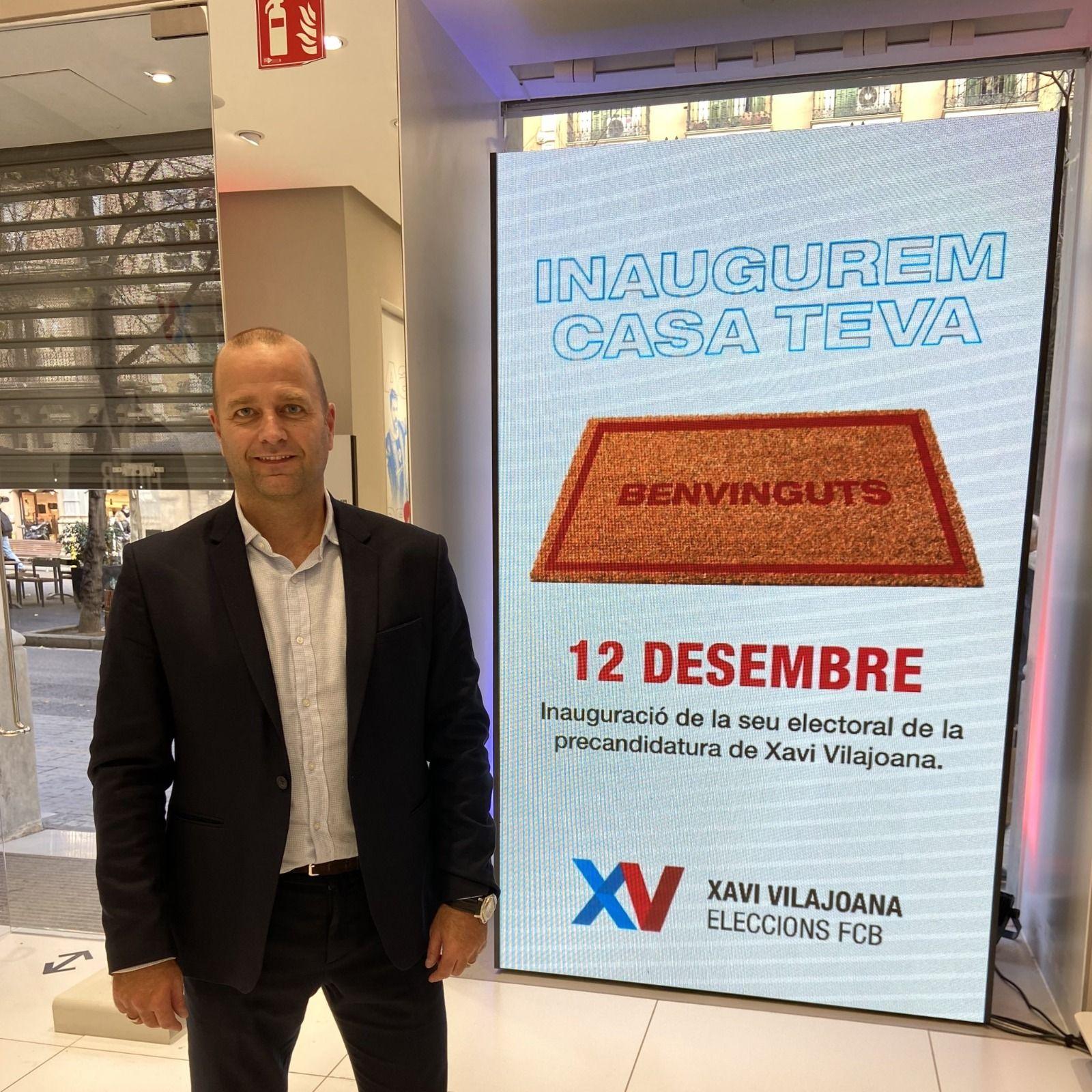 Xavier Vilajoana, precandidat a les eleccions del Barça | Candidatura XV