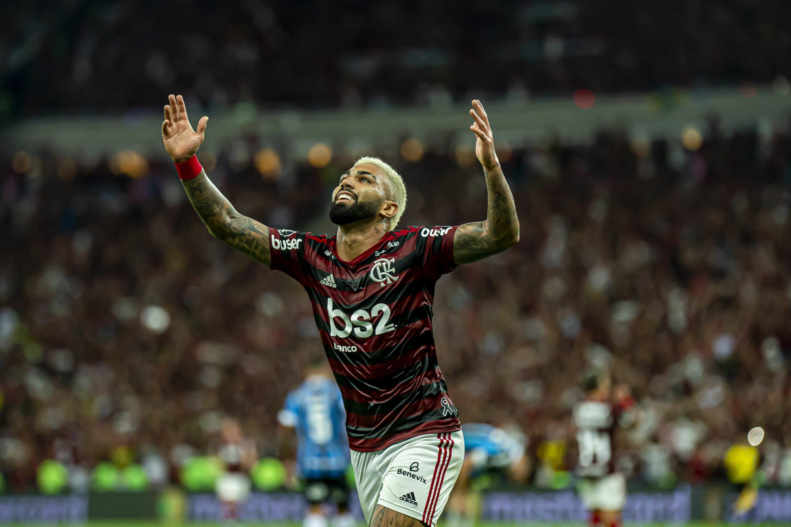 Gabriel Barbosa celebra un gol amb el Flamengo   Europa Press