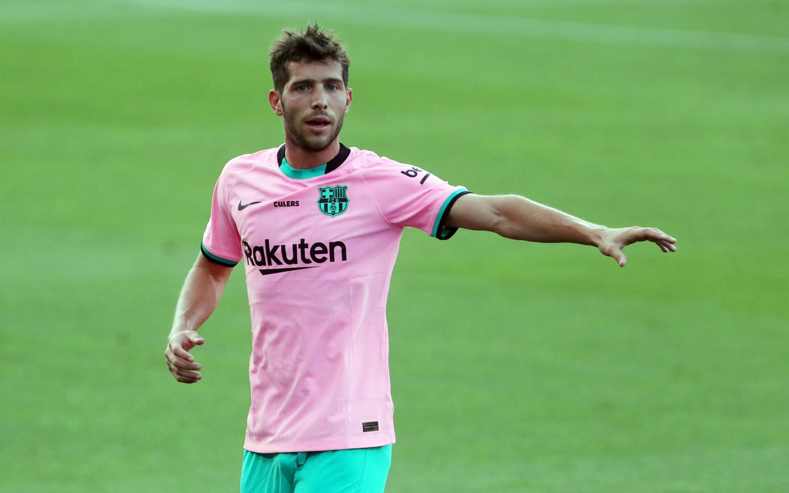 Sergi Roberto, durant un partit | FC Barcelona