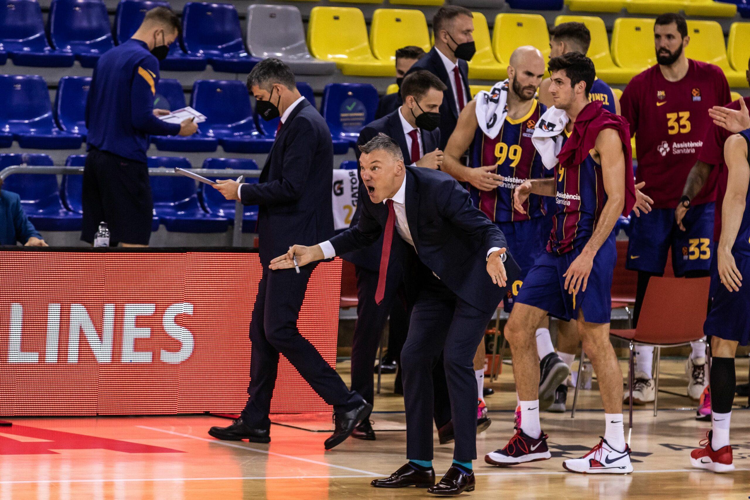 Sarunas Jasikevicius, entrenador del Barça de bàsquet |Europa Press