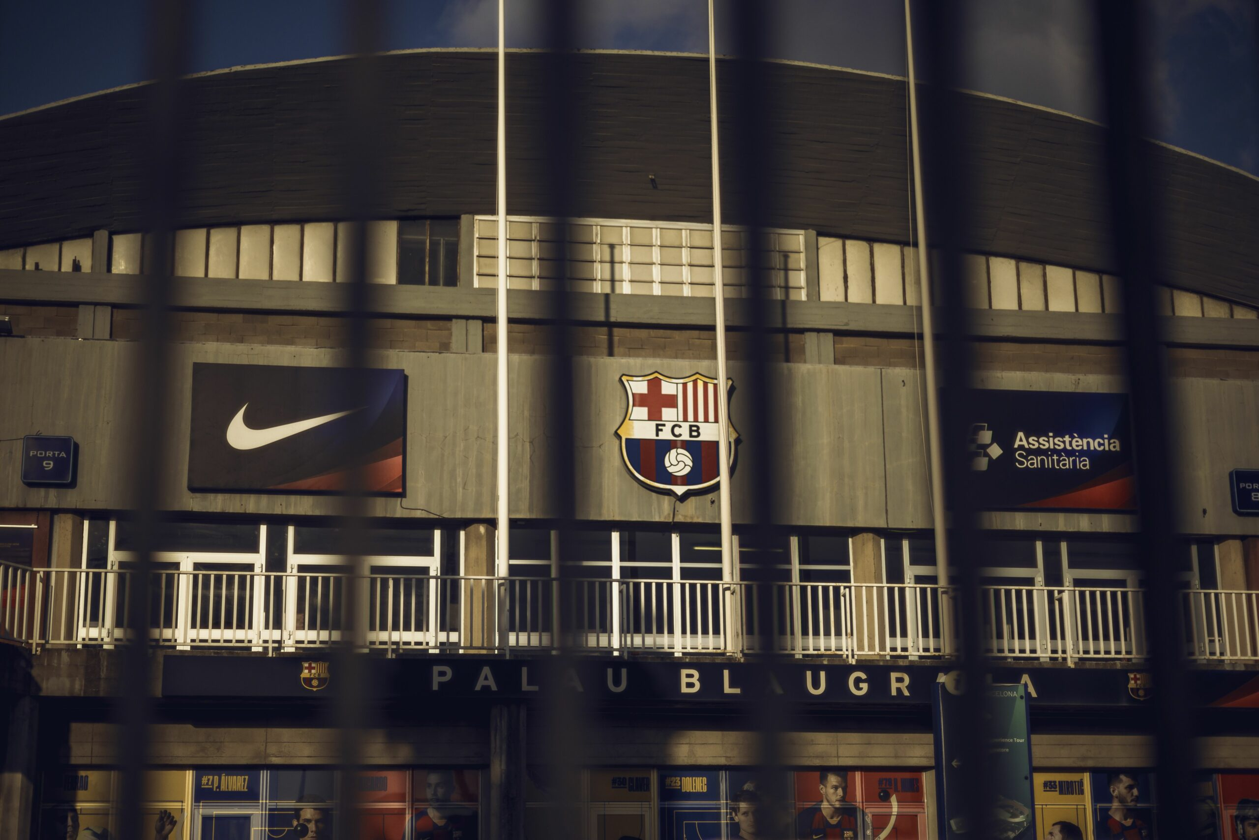 Façana del Palau Blaugrana | Europa Press
