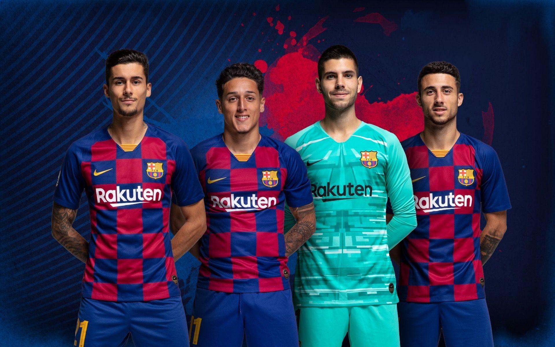 Chumi, Kike Saverio, Sergi Puig i Guillem Jaime, exjugadors del filial del Barça | FC Barcelona
