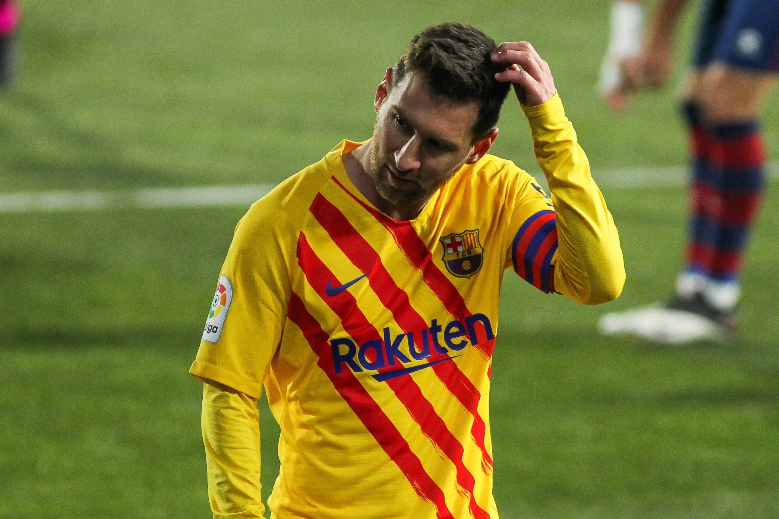Leo Messi, durant un partit del Barça   Europa Press