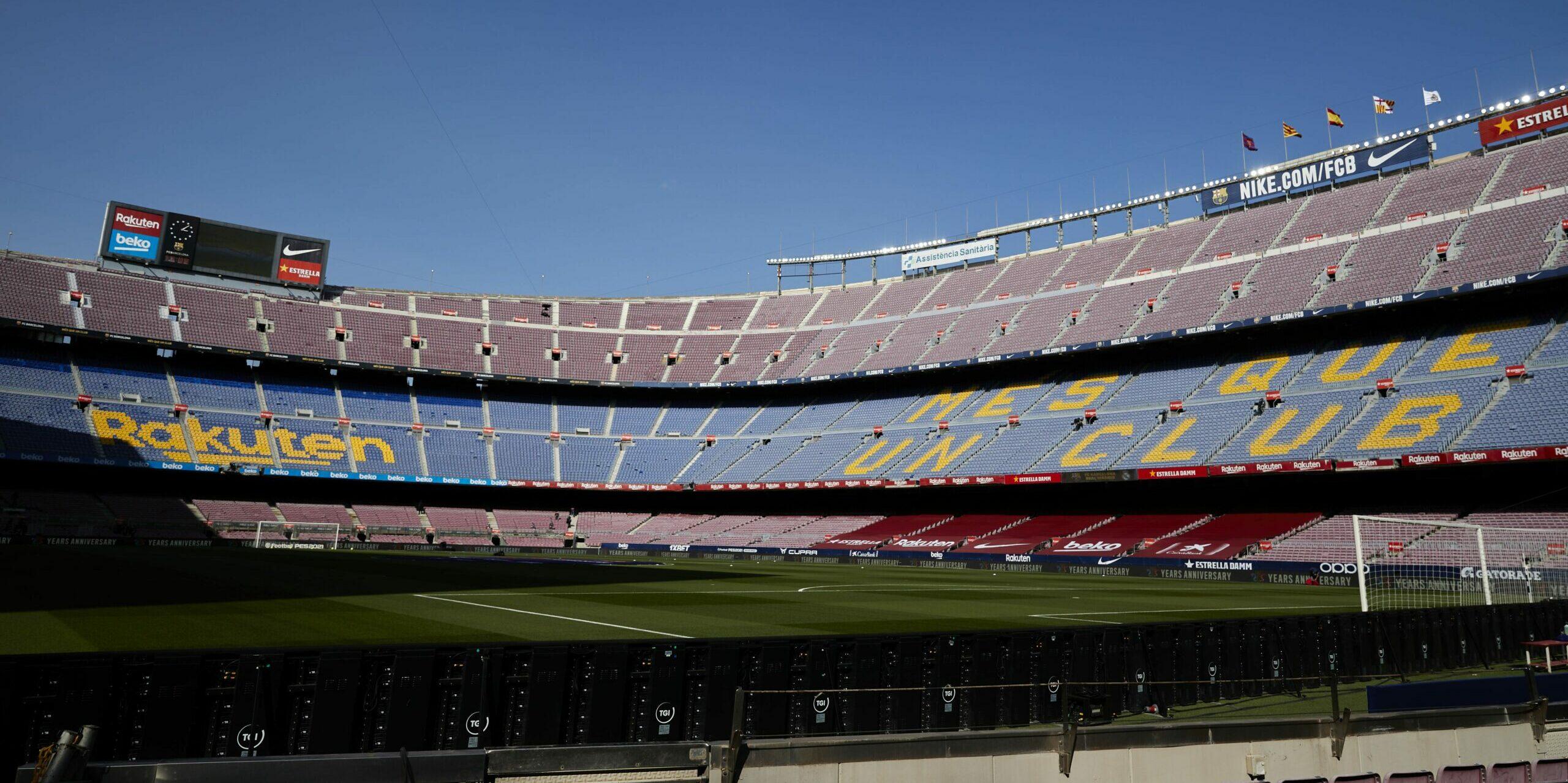 El Camp Nou, abans del clàssic |Europa Press