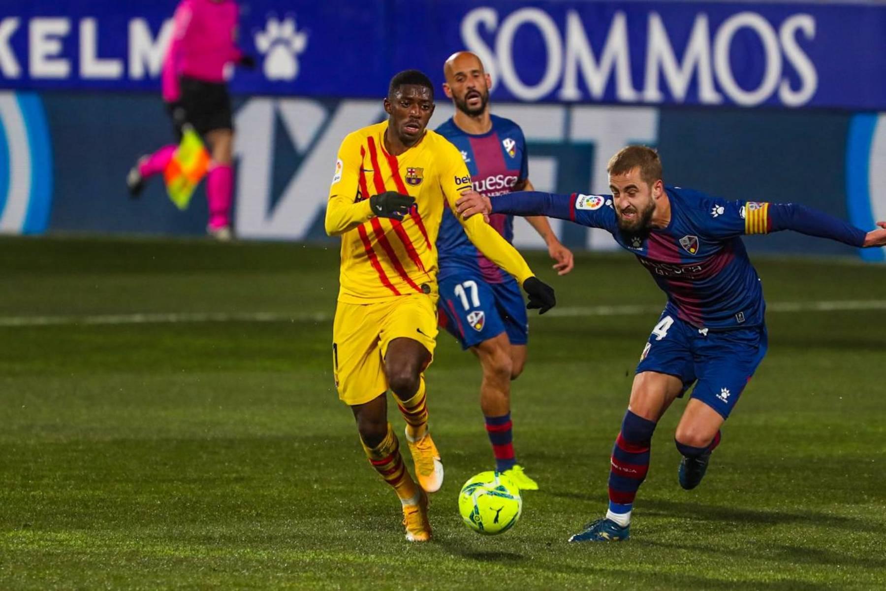 Dembélé, davanter del Barça | FC Barcelona