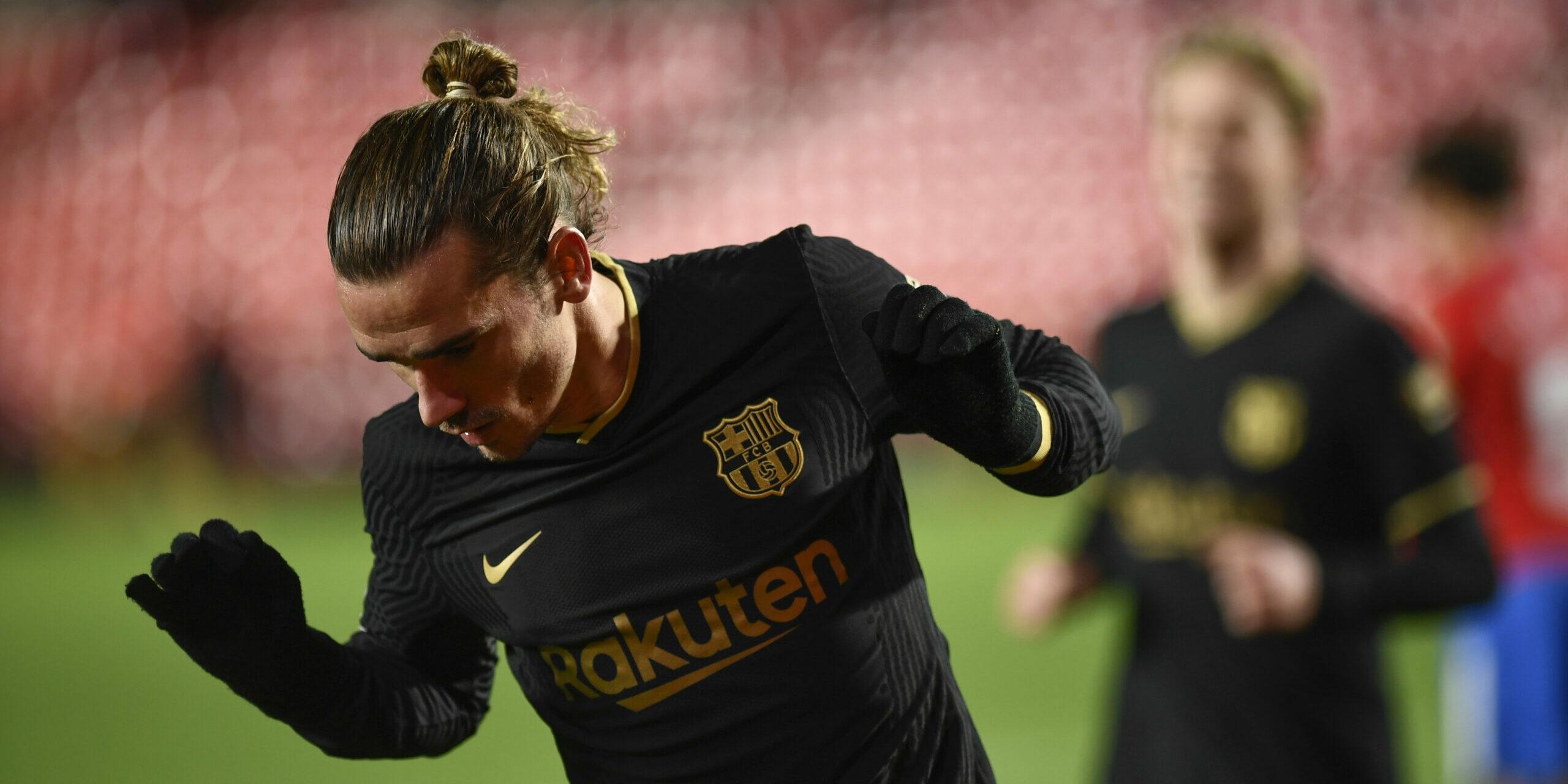 Griezmann celebra el seu gol contra el Granada   Europa Press