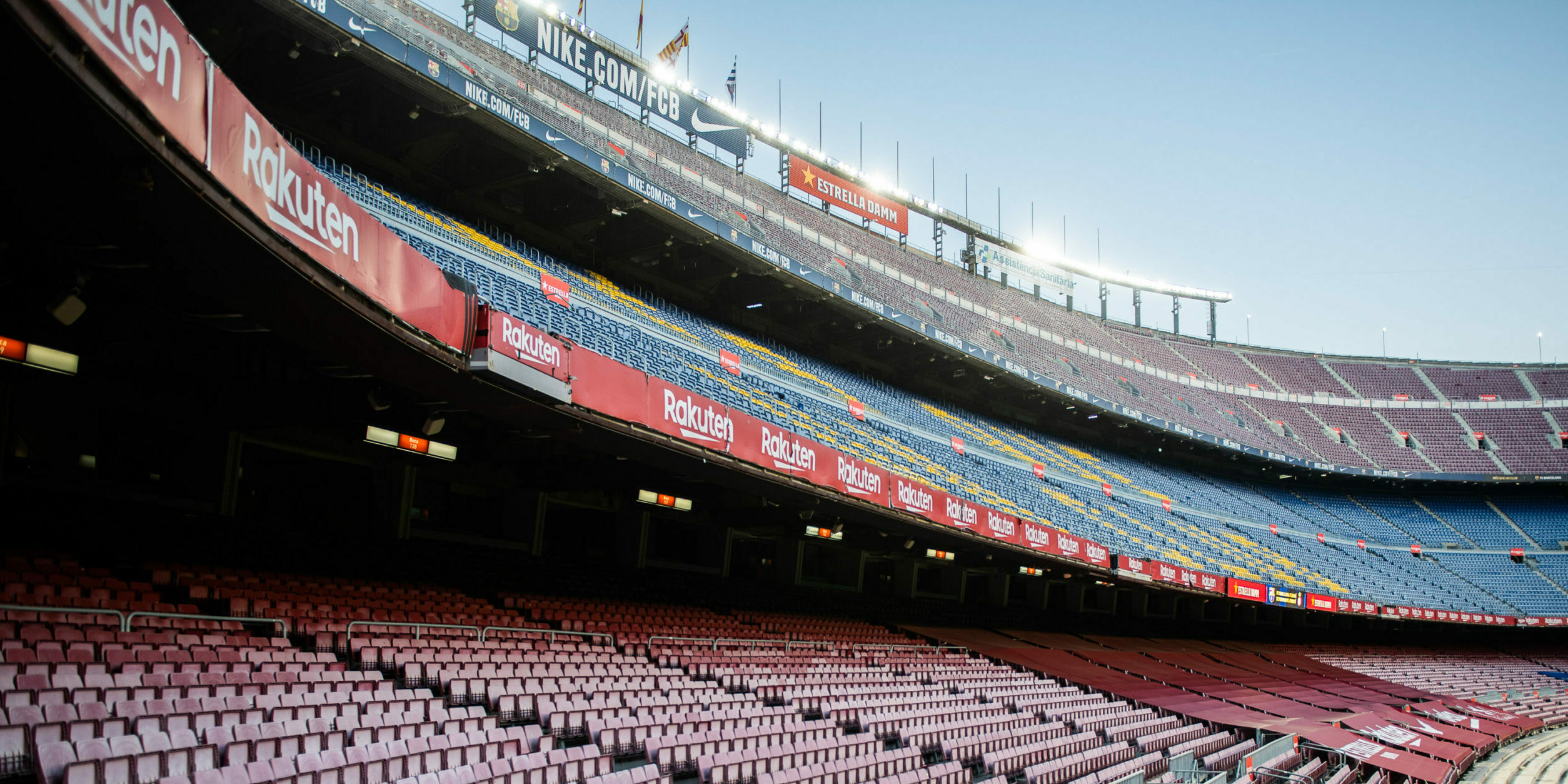 El Camp Nou, buit | Europa Press