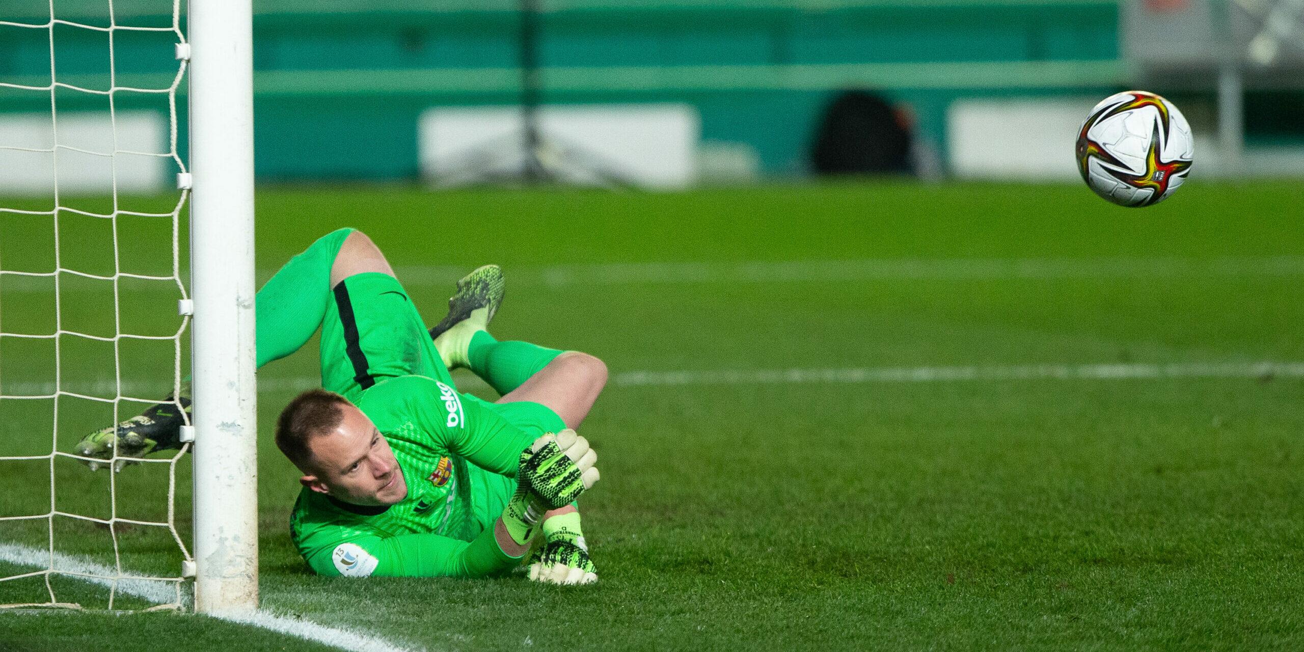 Ter Stegen, porter del Barça | Europa Press