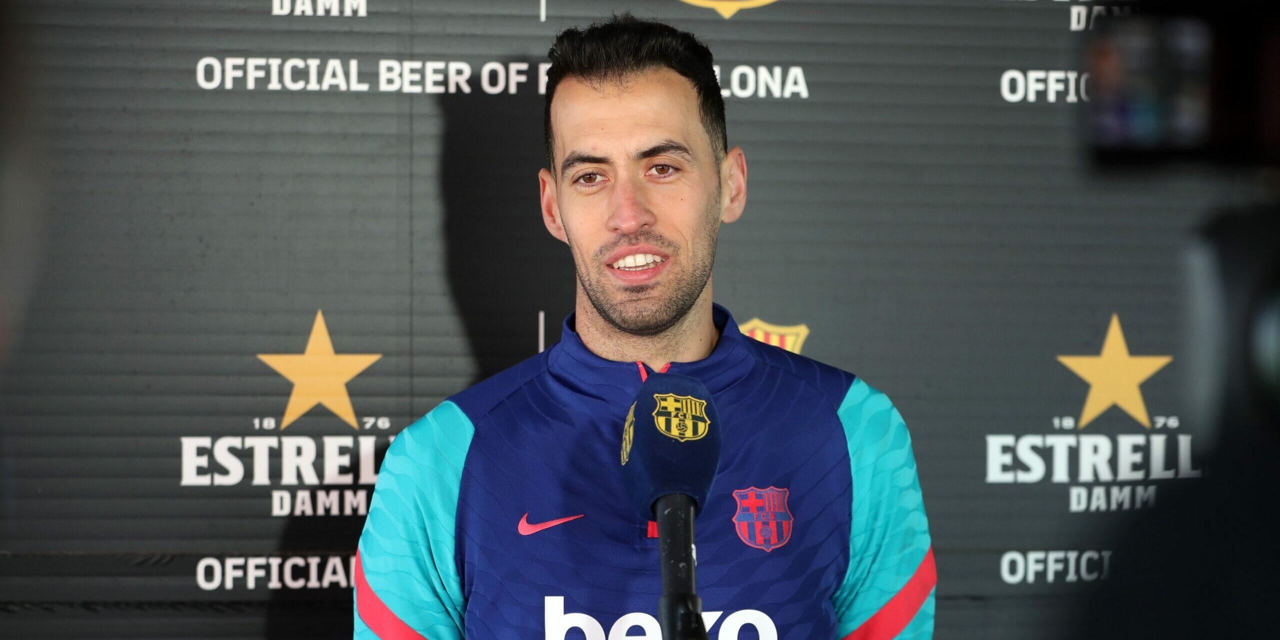 Sergio Busquets, jugador del Barça   Europa Press