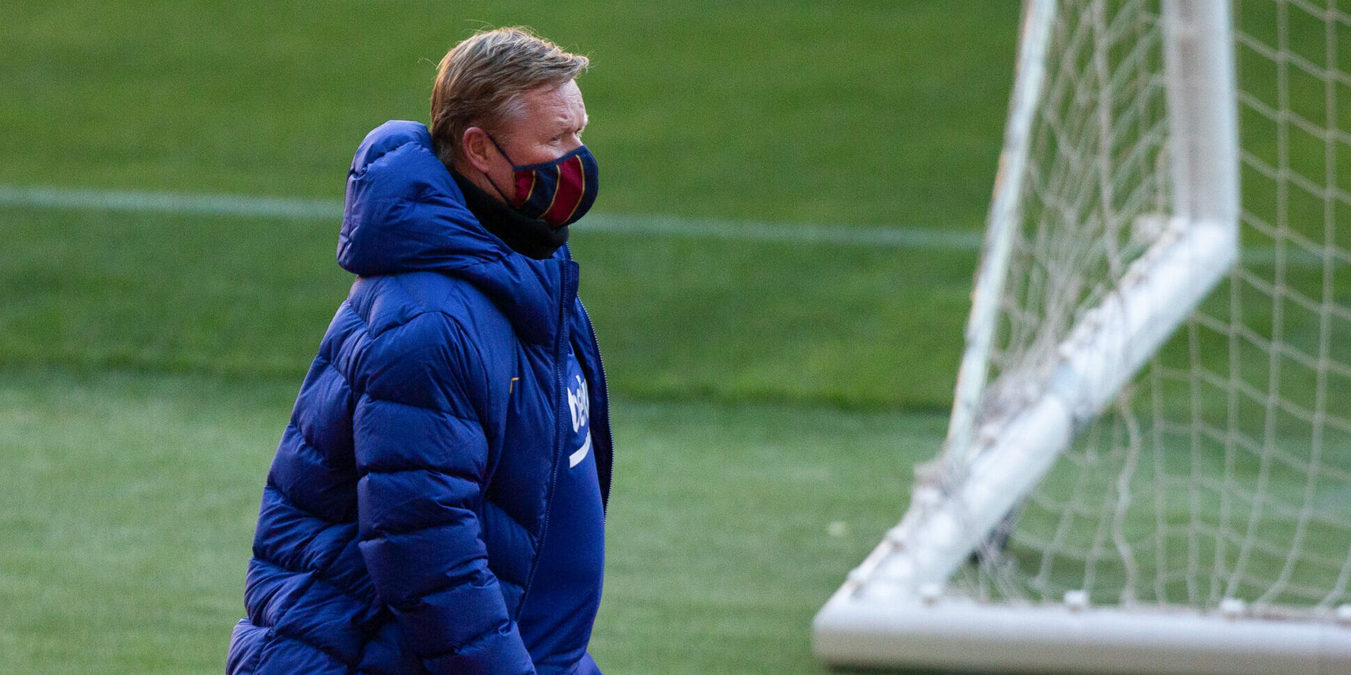 Ronald Koeman, durant la final de la Supercopa d'Espanya | Europa Press