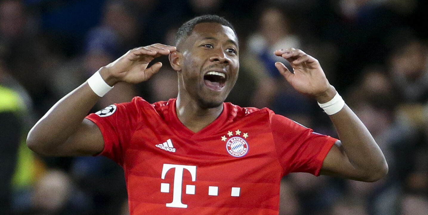 David Alaba, durant un partit del Bayern | Europa Press