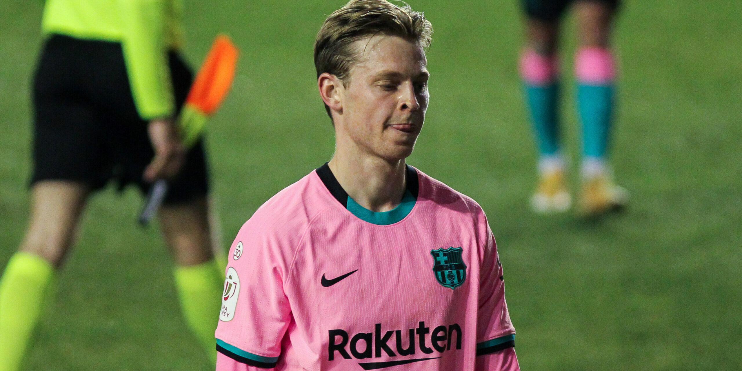 De Jong, durrant un partit del Barça | Europa Press