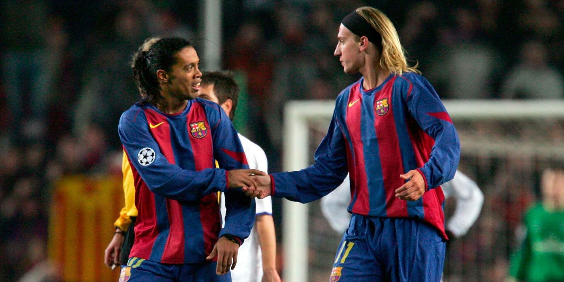 Maxi López i Ronaldinho, en arxiu   @MaxiLopez_11