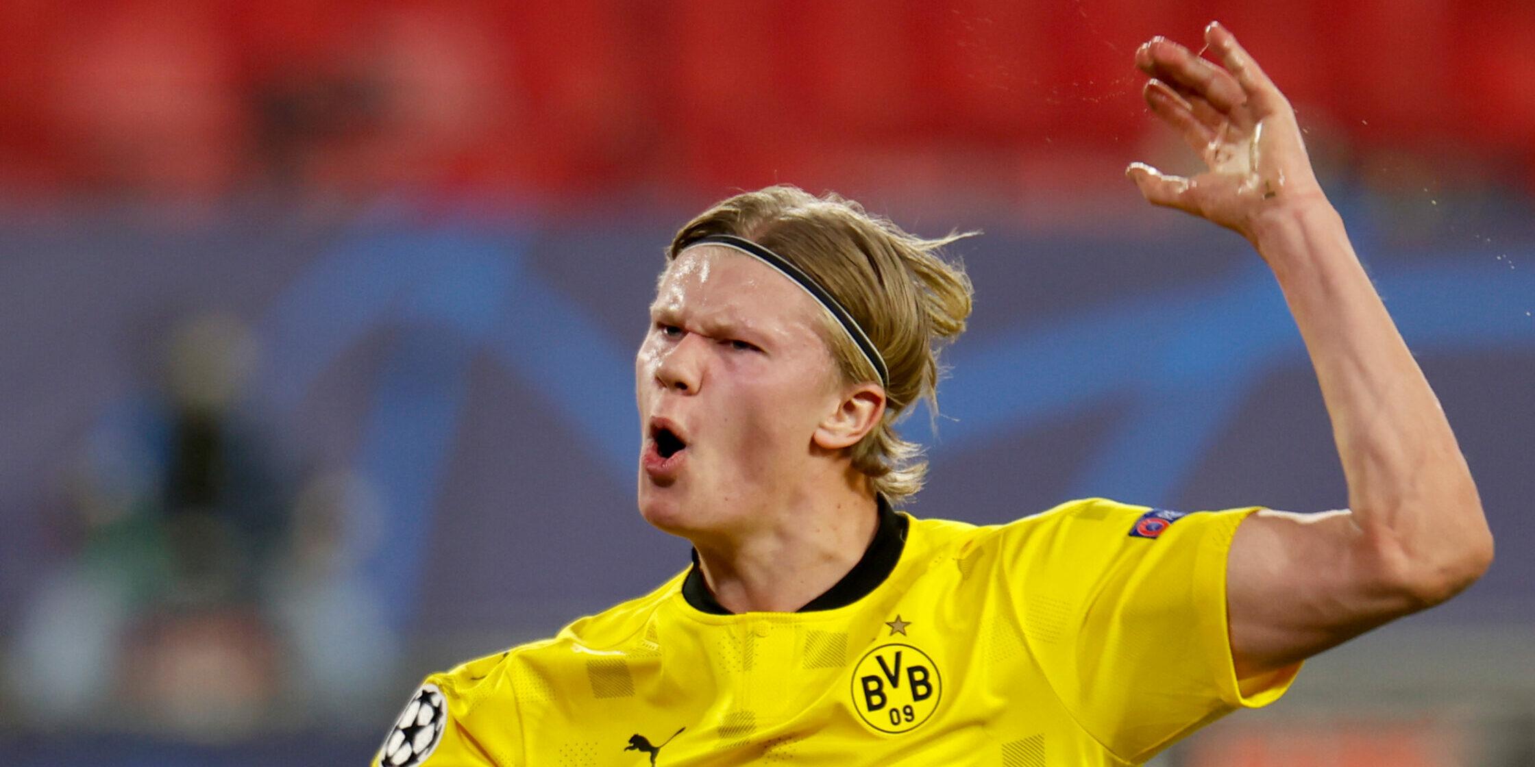 Haaland, jugador del Borussia Dortmund | Europa Press