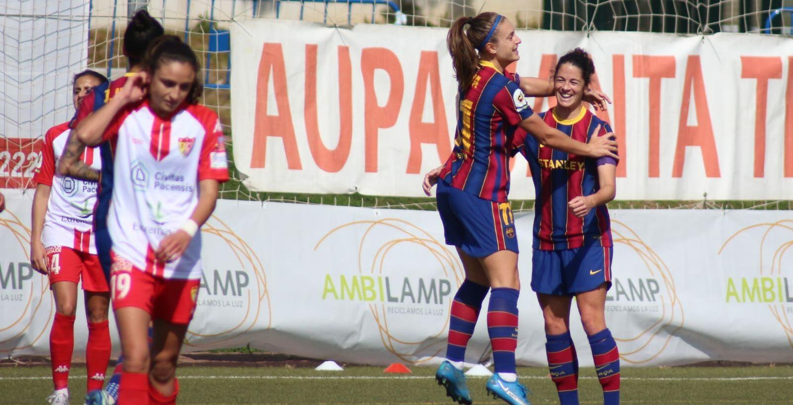 El FC Barcelona femení   FCB