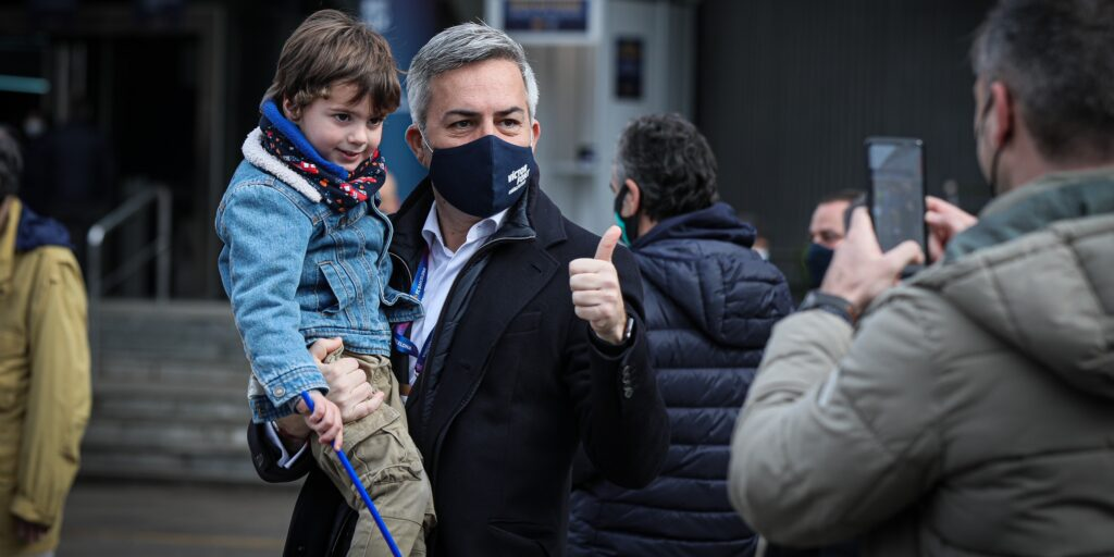 Víctor Font, el dia de les eleccions | Jordi Borràs