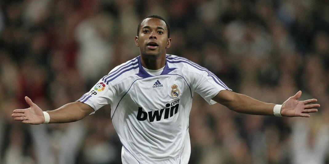 Robinho, exjugador del Reial Madrid   UEFA