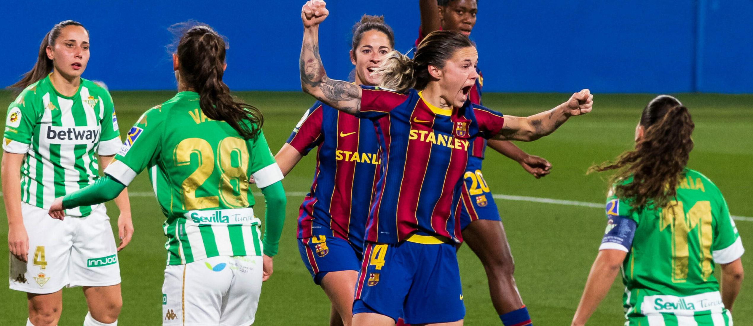 Les jugadores del Barça celebren un gol | Europa Press