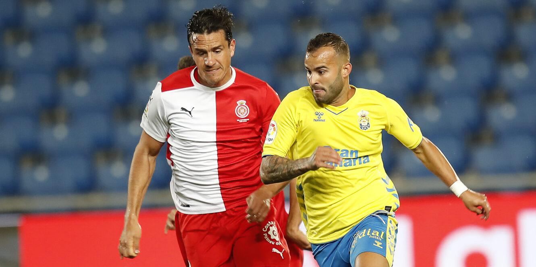 Jesé Rodríguez, durant el partit contra el Girona | UDLP