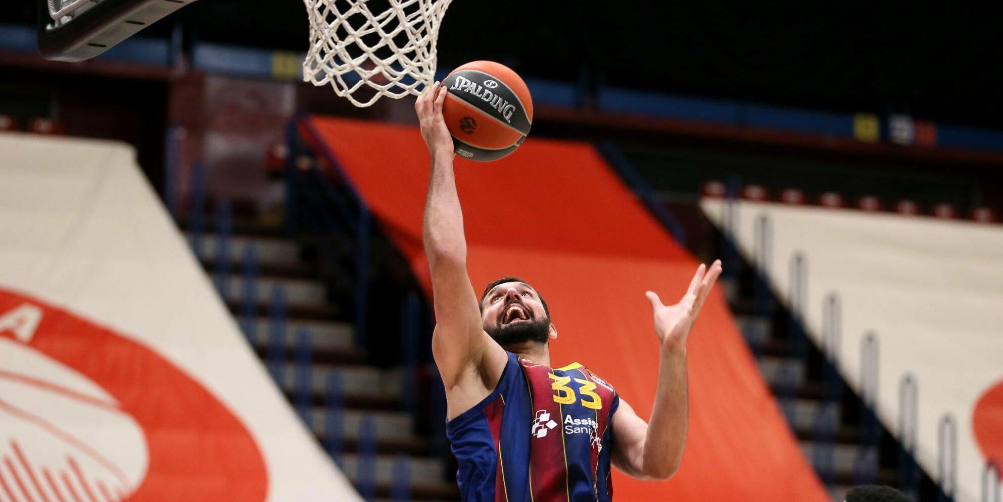 Mirotic, emtrant a cistella | FCB Basket