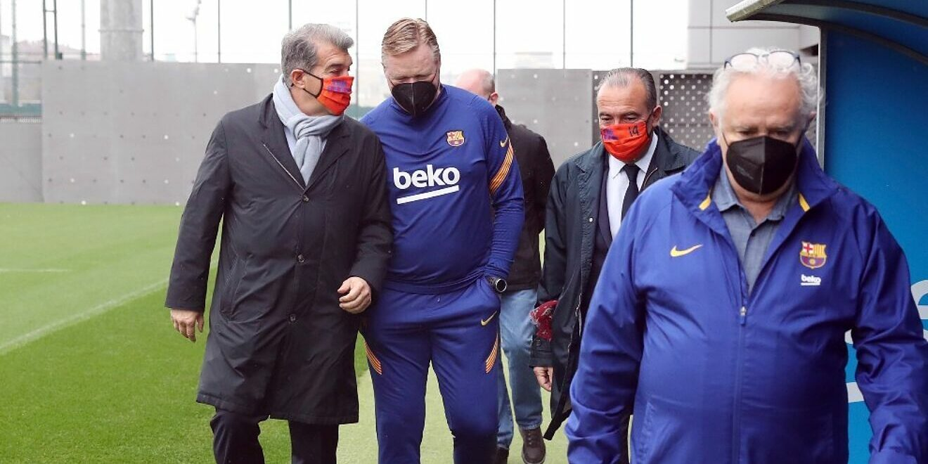 Laporta i Koeman | FC Barcelona