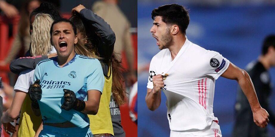 Misa i Asensio, jugadors del Reial Madrid | @marcoasensio10