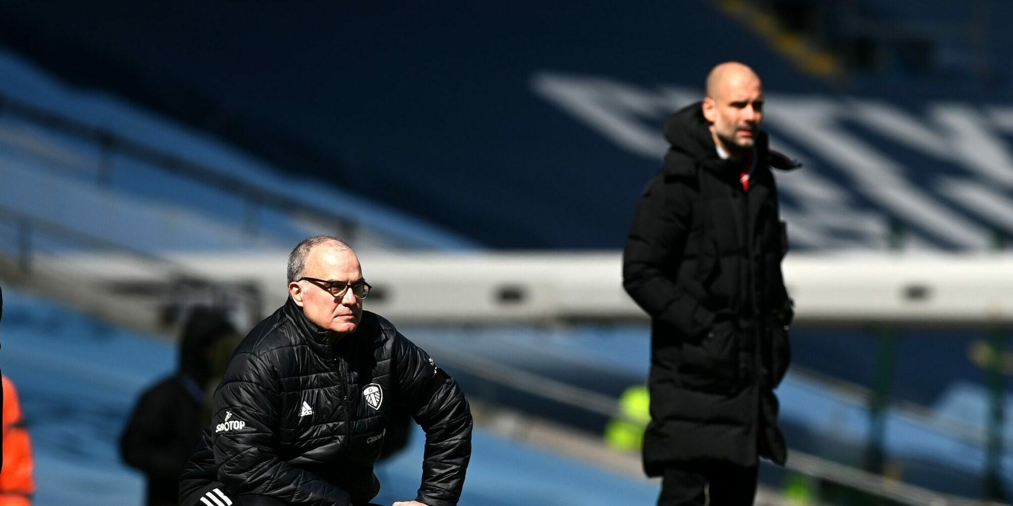 Pep Guardiola i Marcelo Bielsa | Europa Press