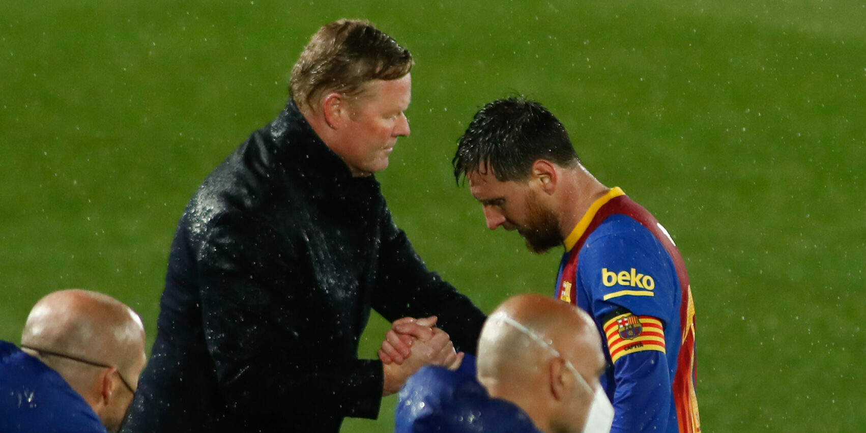 Messi i Koeman, durant el clàssic | Europa Press